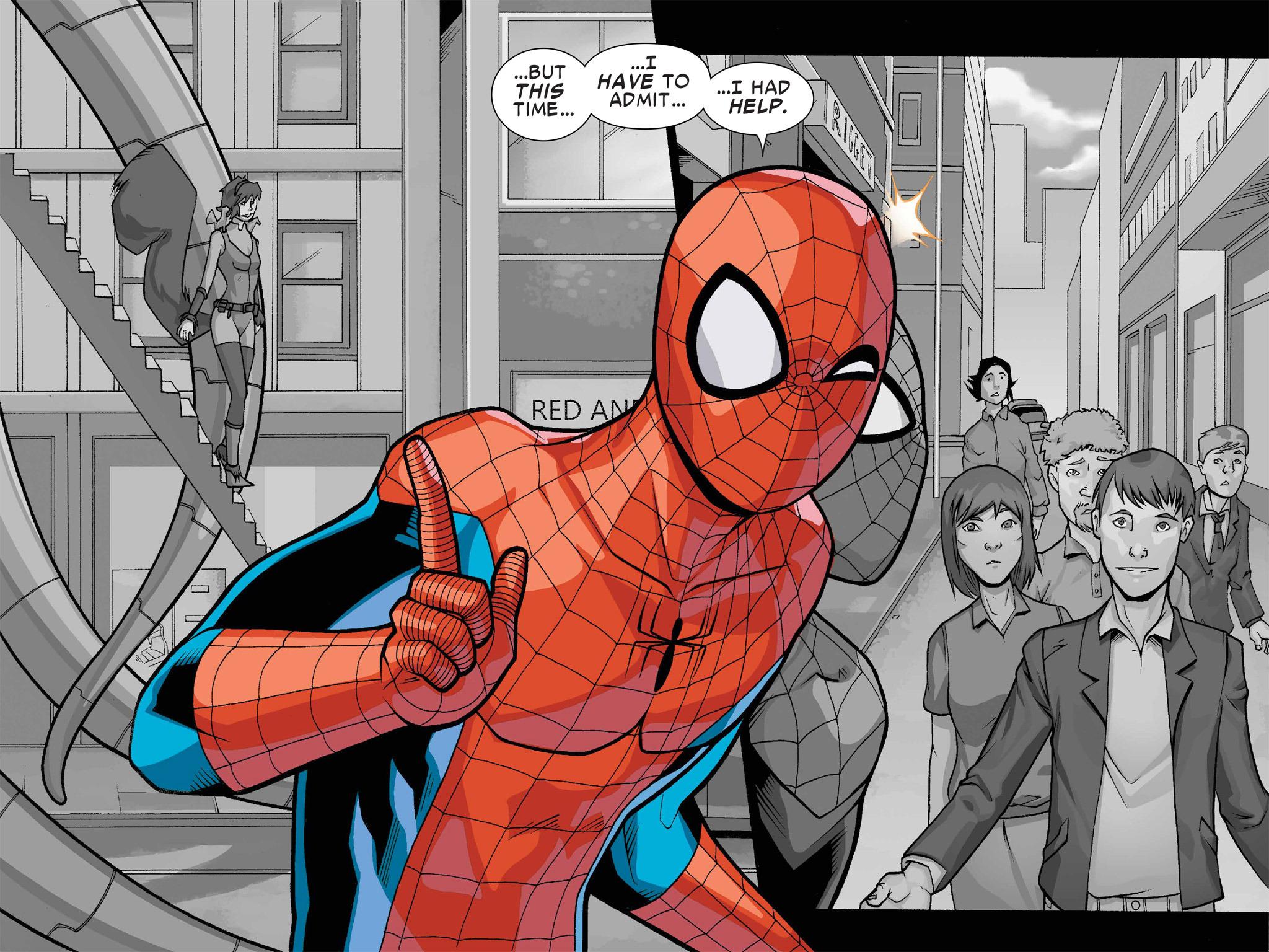 Read online Ultimate Spider-Man (Infinite Comics) (2016) comic -  Issue #1 - 51