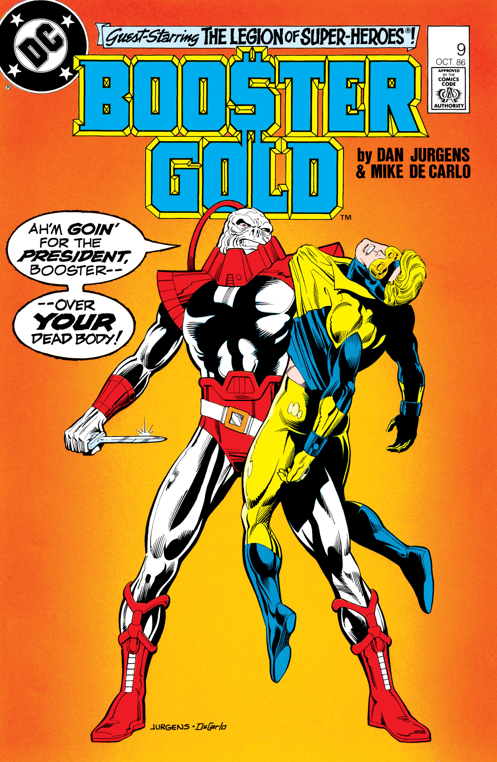 Booster Gold 1986 Issue 9