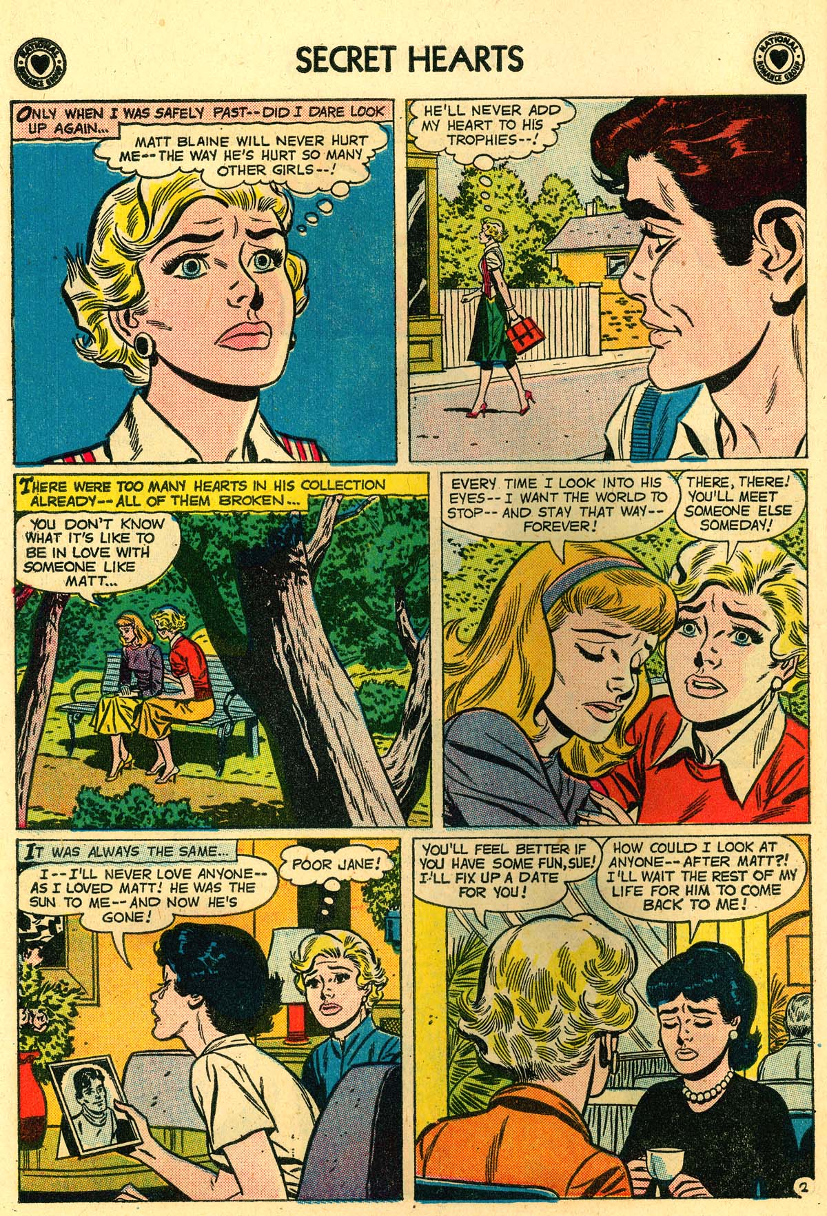 Read online Secret Hearts comic -  Issue #56 - 10