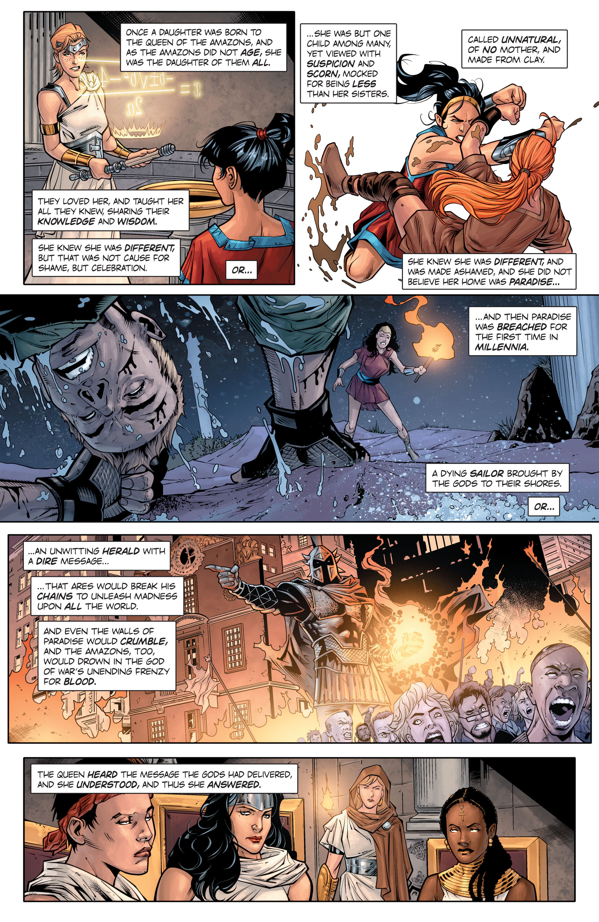 Read online Wonder Woman: Rebirth comic -  Issue # Full - 10