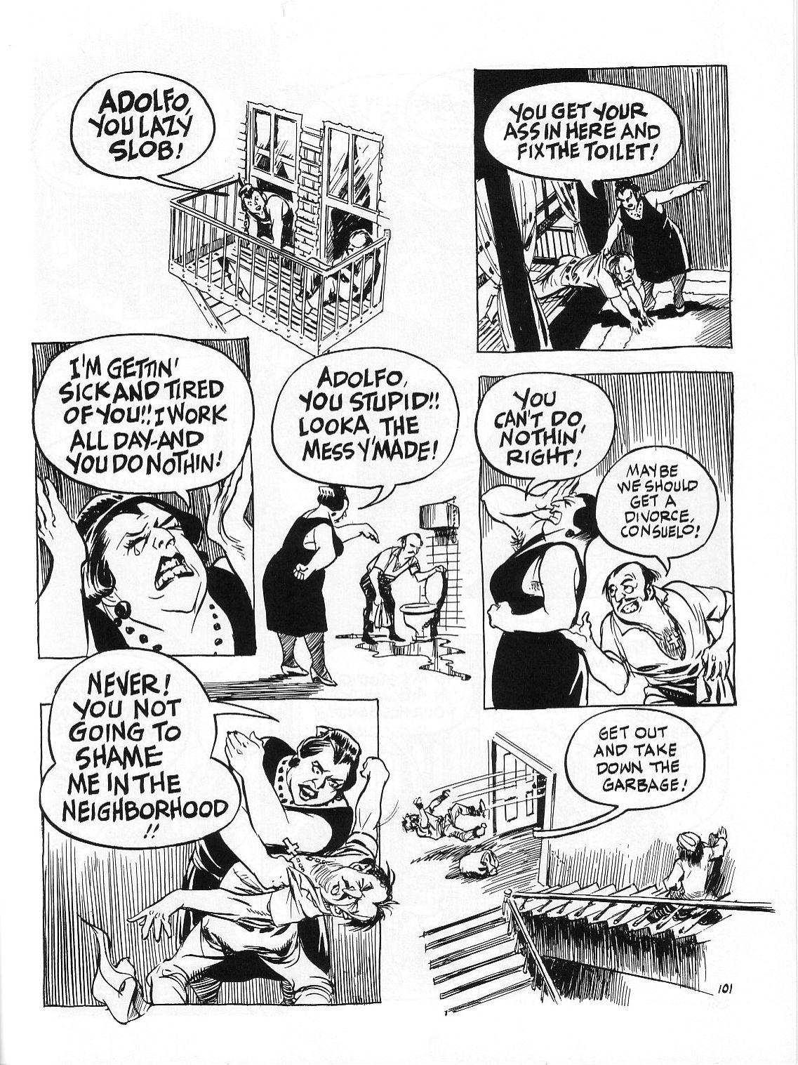 Read online Dropsie Avenue, The Neighborhood comic -  Issue # Full - 103