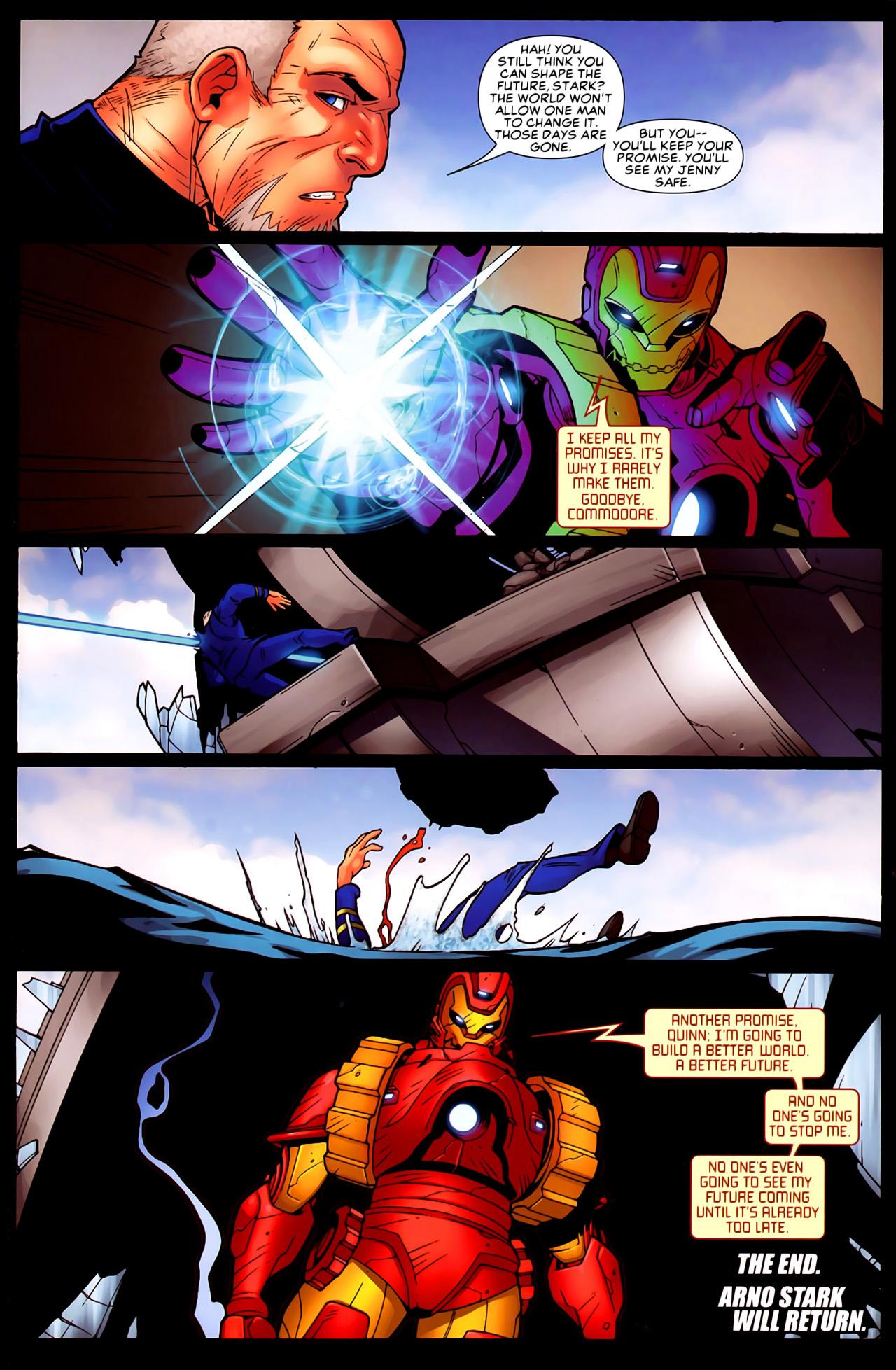 Read online Astonishing Tales (2009) comic -  Issue #6 - 18