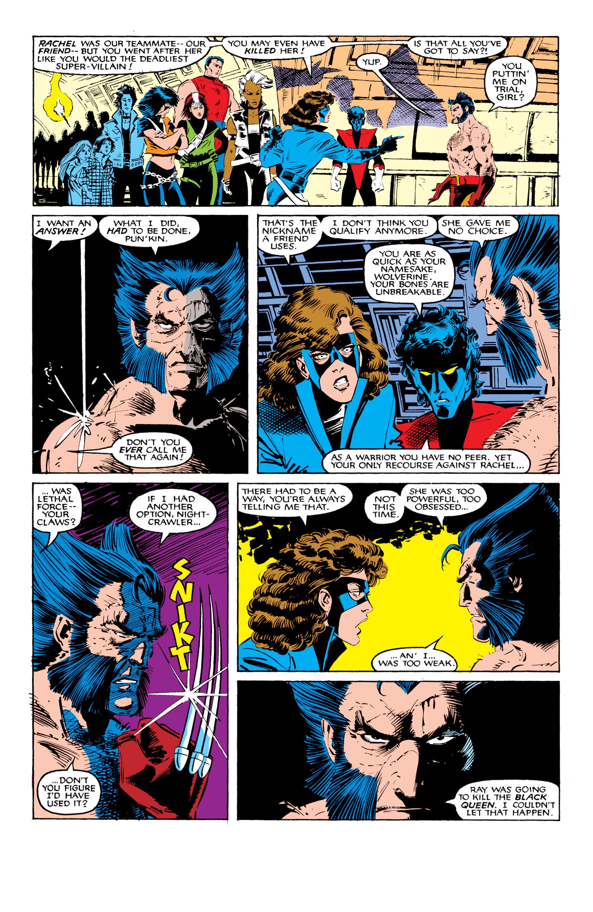 Read online Uncanny X-Men (1963) comic -  Issue #208 - 3