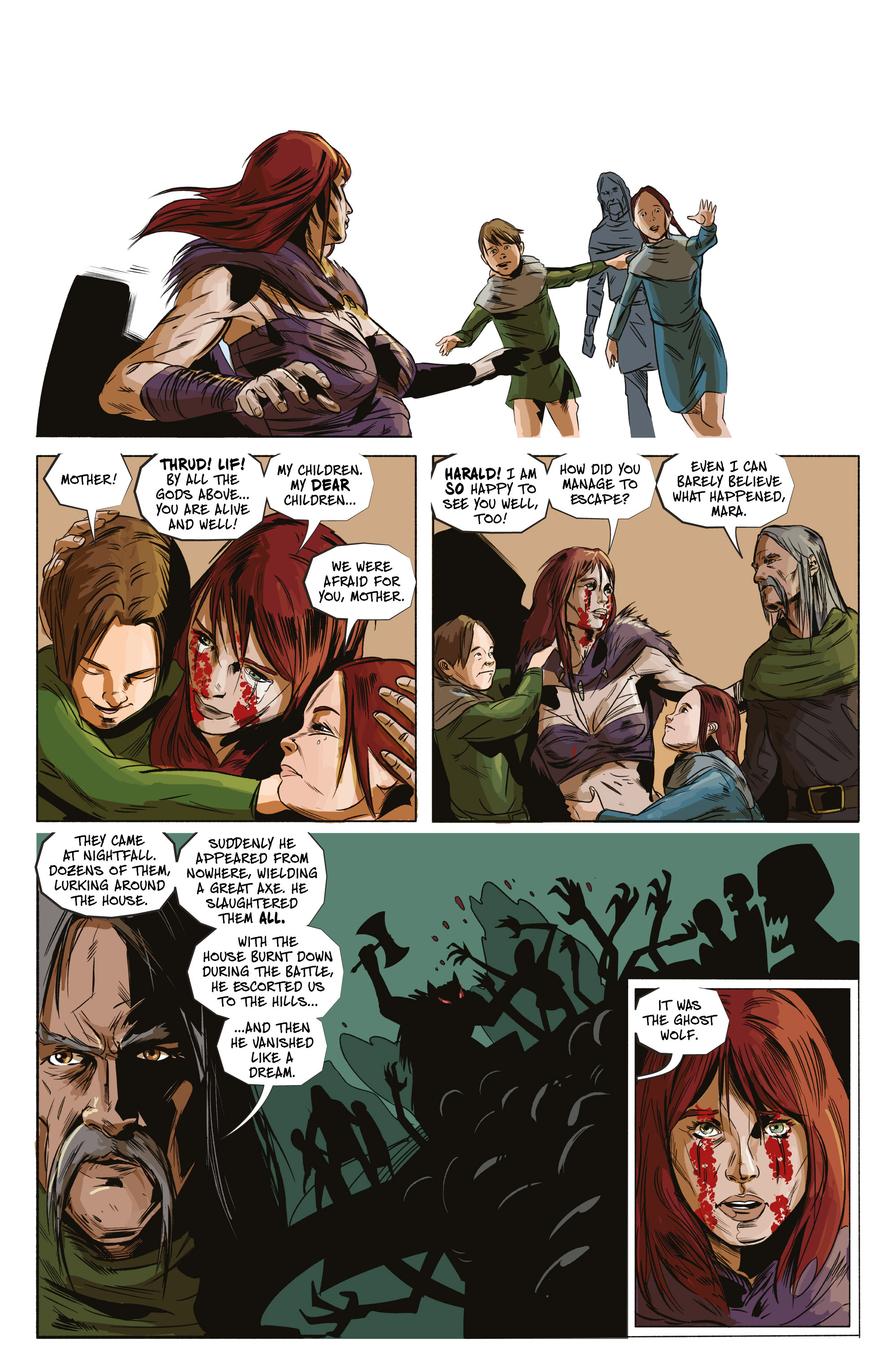 Read online Ghost Wolf comic -  Issue #4 - 27
