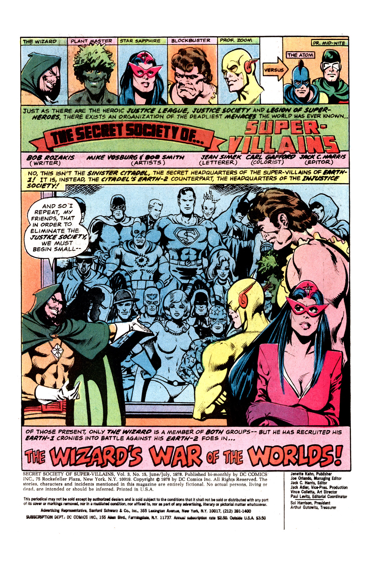 Read online Secret Society of Super-Villains comic -  Issue #15 - 3