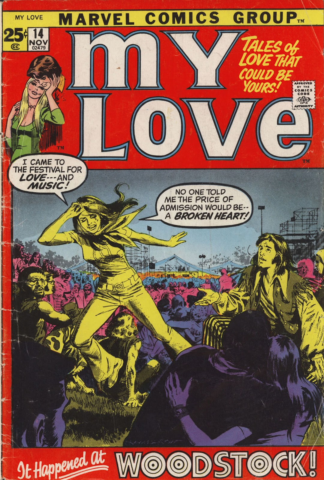 My Love (1969) issue 14 - Page 1