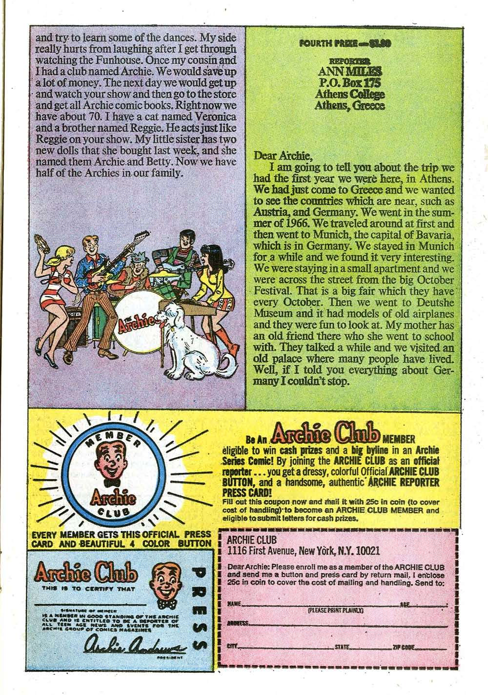 Read online Archie (1960) comic -  Issue #208 - 11