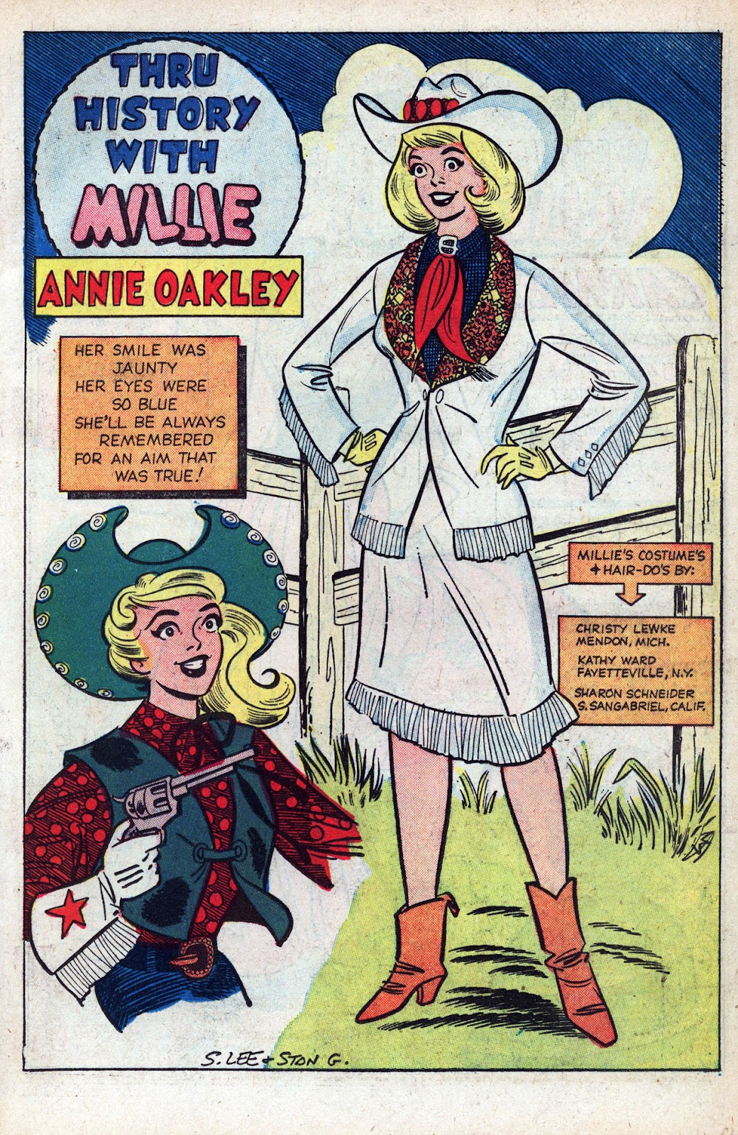 Read online Millie the Model comic -  Issue # Annual 1 - 51