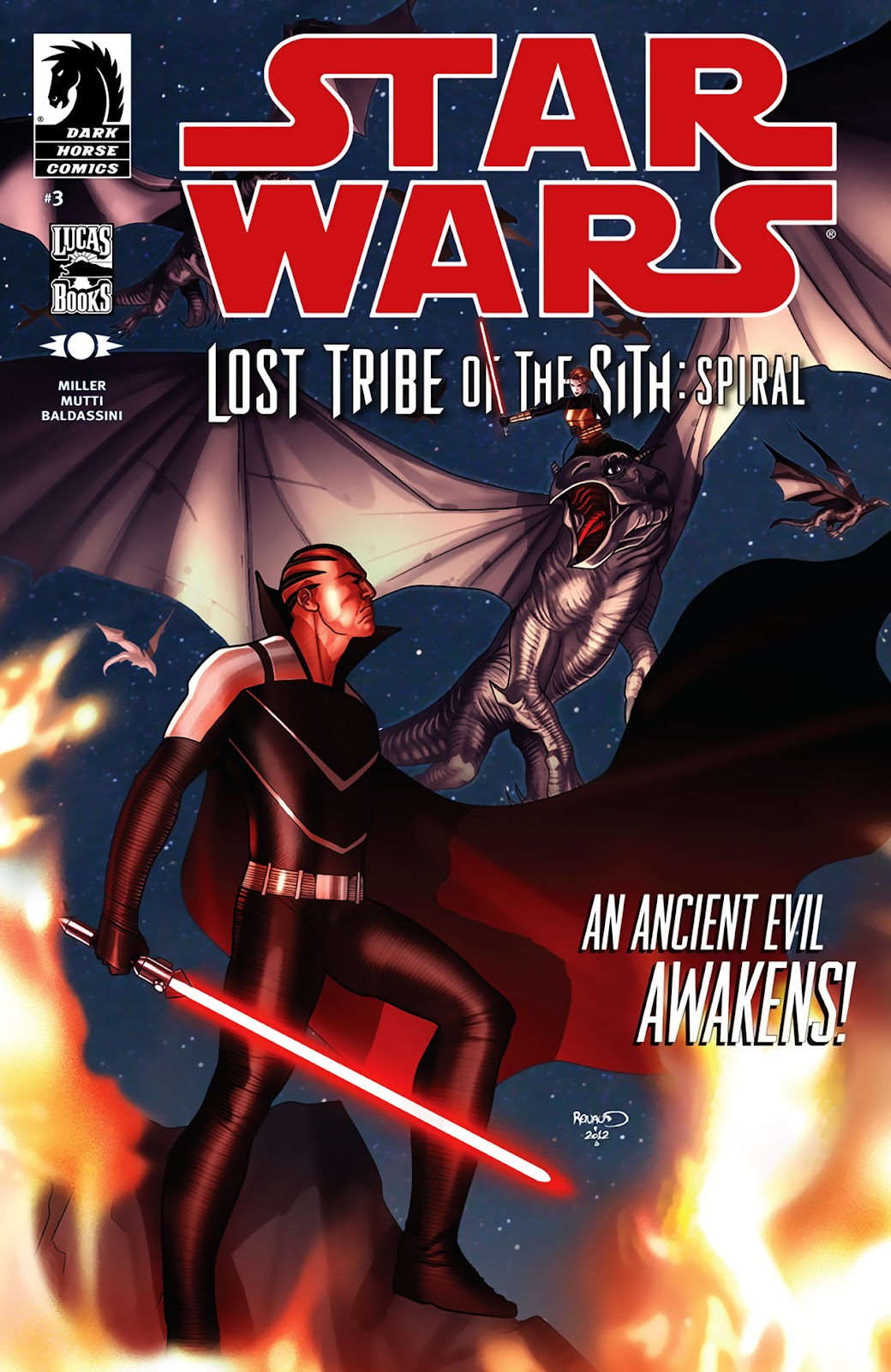Star Wars: Lost Tribe of the Sith - Spiral 3 Page 1