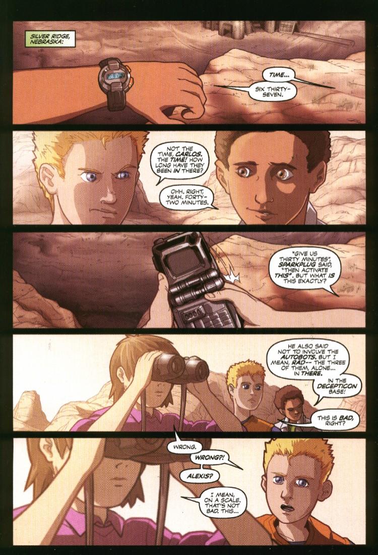 Read online Transformers Armada comic -  Issue #7 - 3