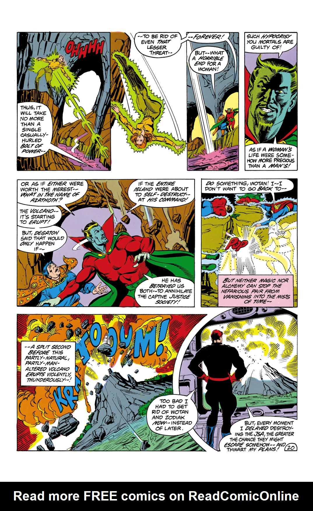 Read online All-Star Squadron comic -  Issue #3 - 21