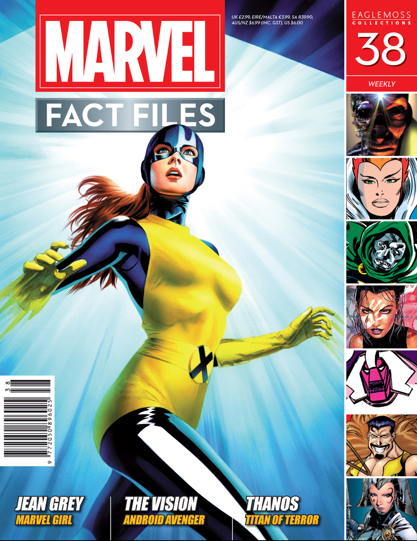 Marvel Fact Files 38 Page 1