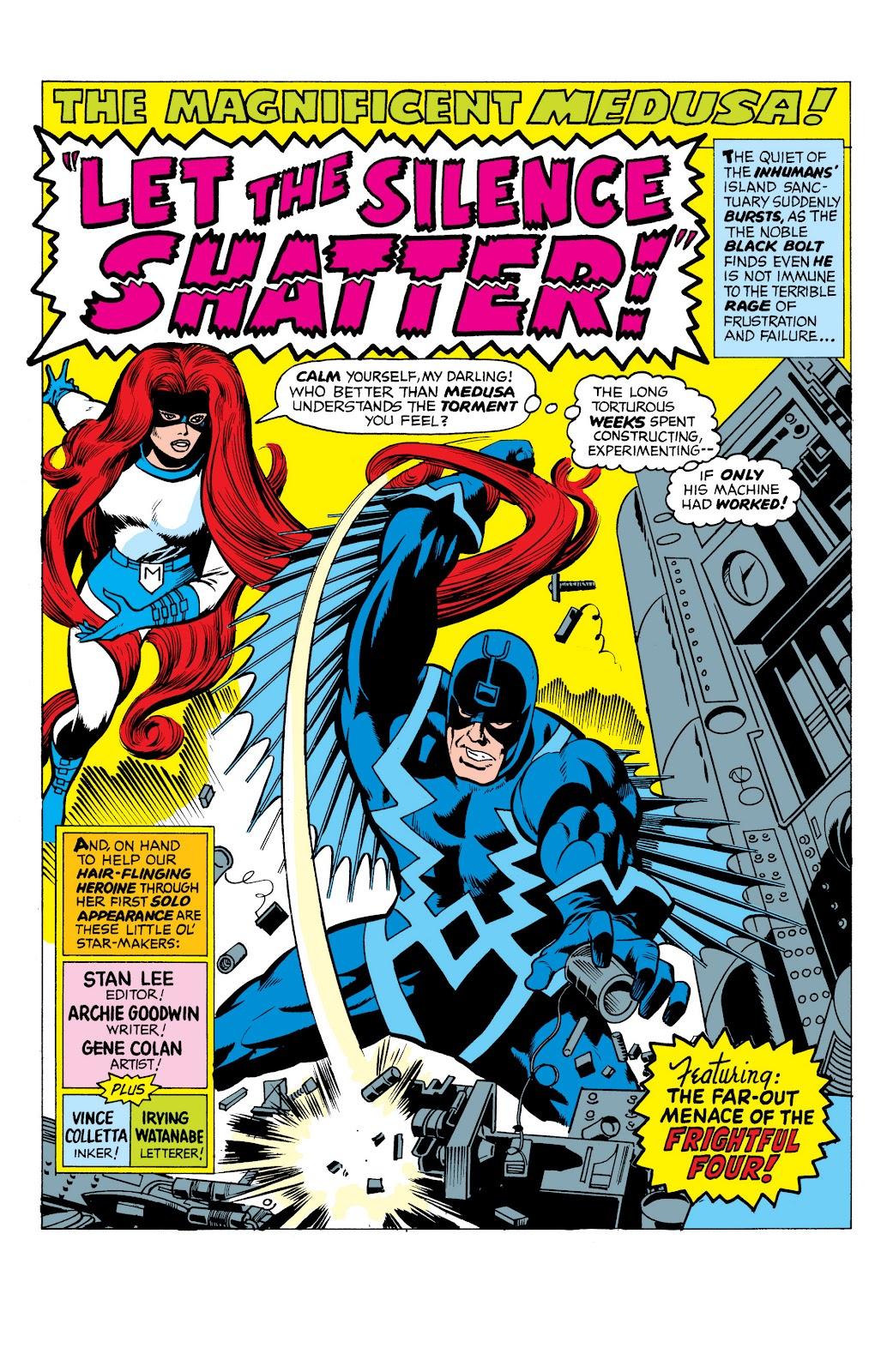 Read online Marvel Masterworks: The Inhumans comic -  Issue # TPB 1 (Part 1) - 44