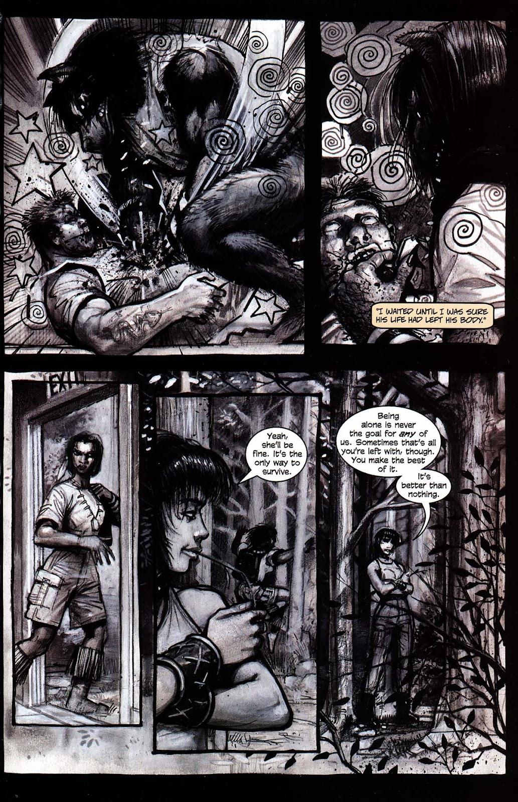 Read online Werewolf the Apocalypse comic -  Issue # Black Furies - 49