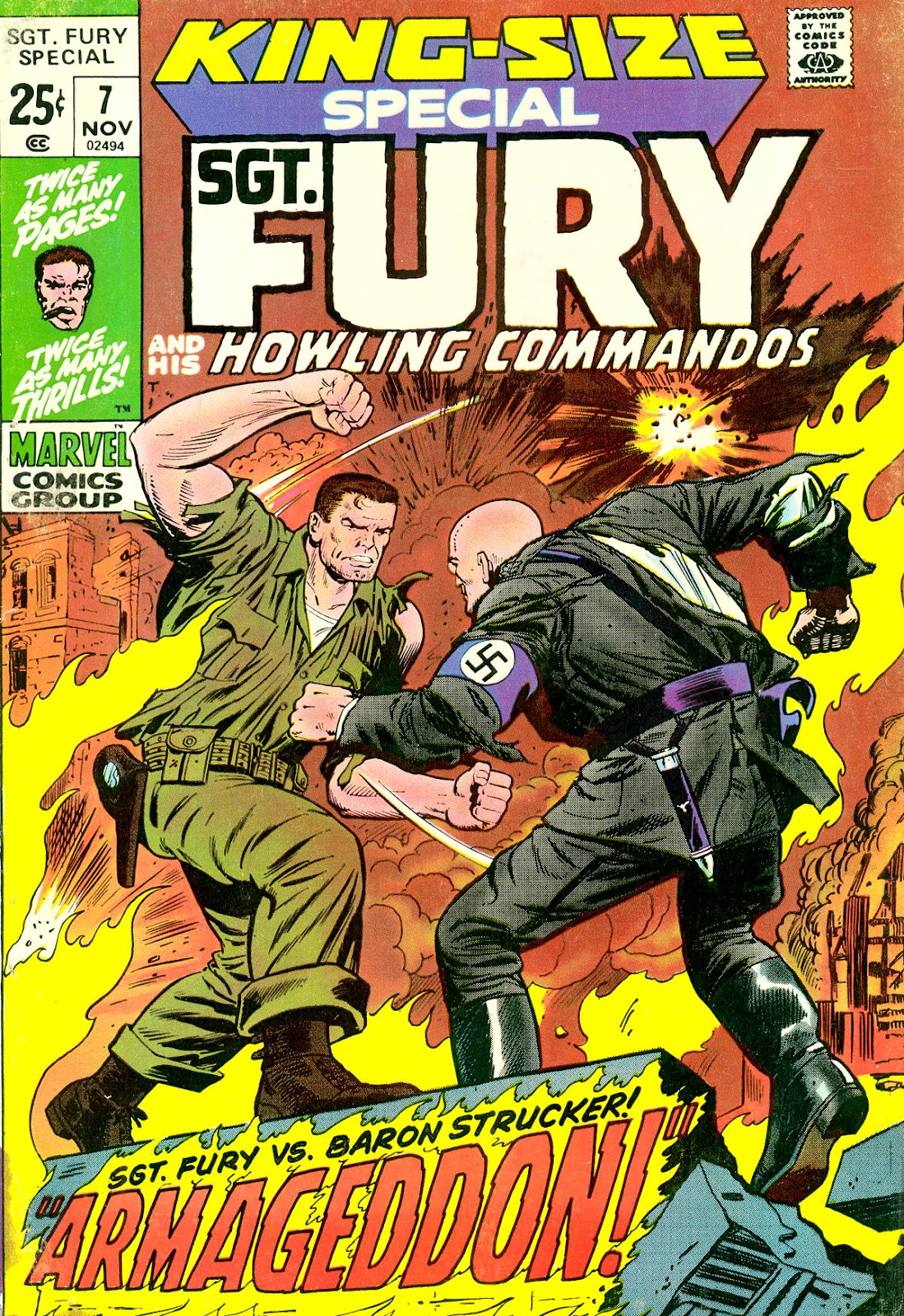 Sgt. Fury issue _Special_7 - Page 1