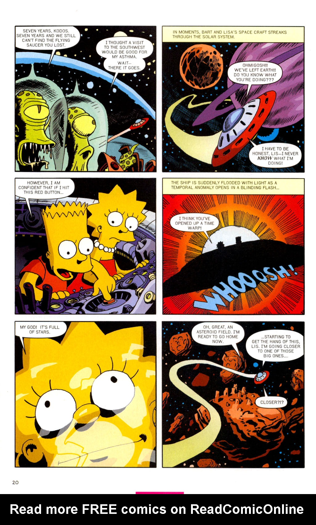 Read online Treehouse of Horror comic -  Issue #11 - 51