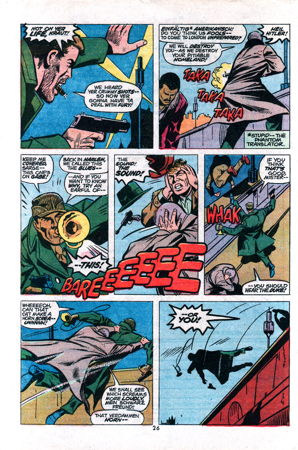 Read online Sgt. Fury comic -  Issue #117 - 28