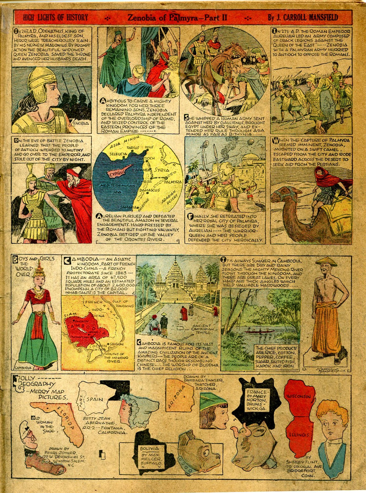 Read online Famous Funnies comic -  Issue #41 - 43