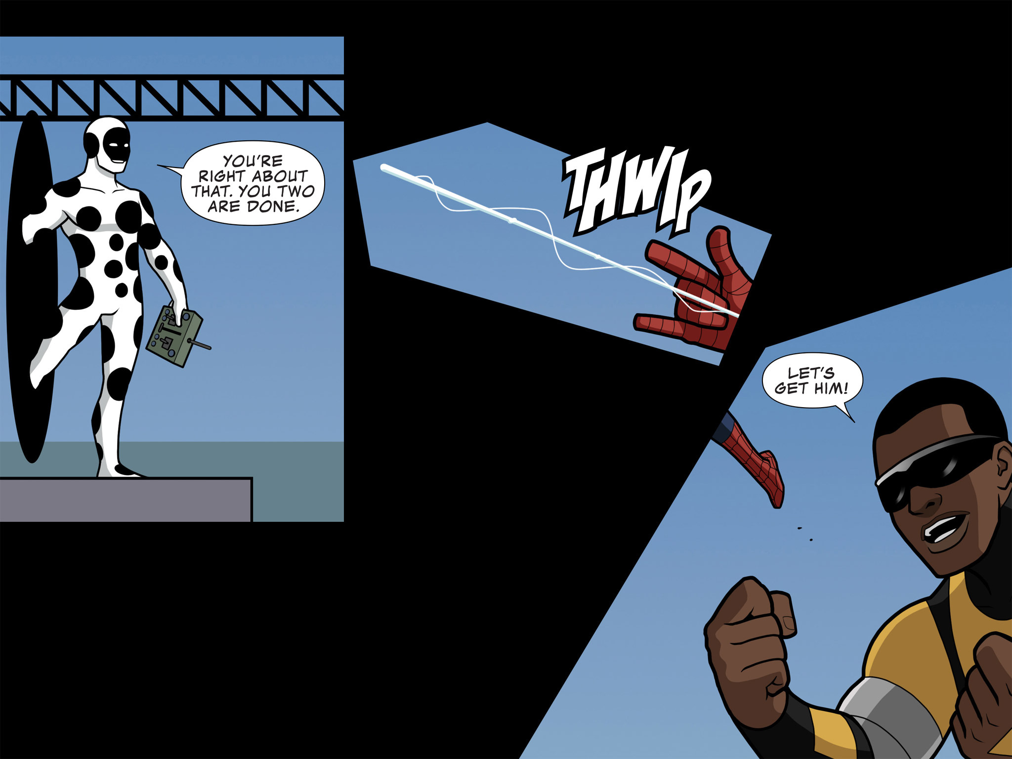 Read online Ultimate Spider-Man (Infinite Comics) (2015) comic -  Issue #10 - 36