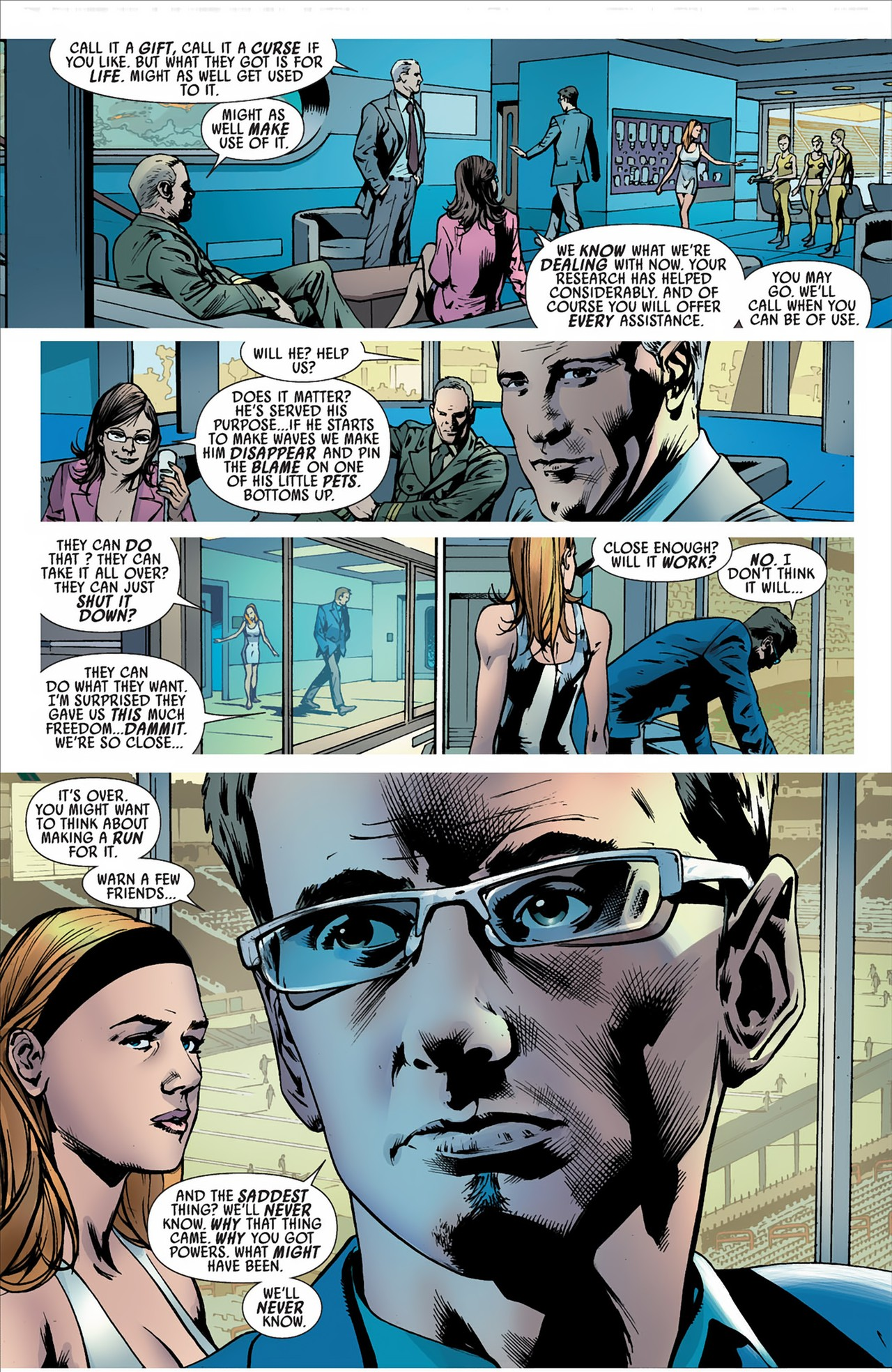 Read online America's Got Powers comic -  Issue #2 - 16
