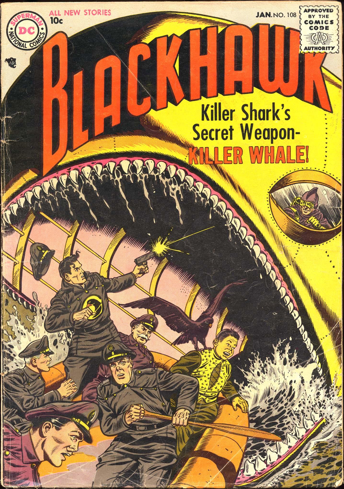 Blackhawk (1957) 108 Page 1