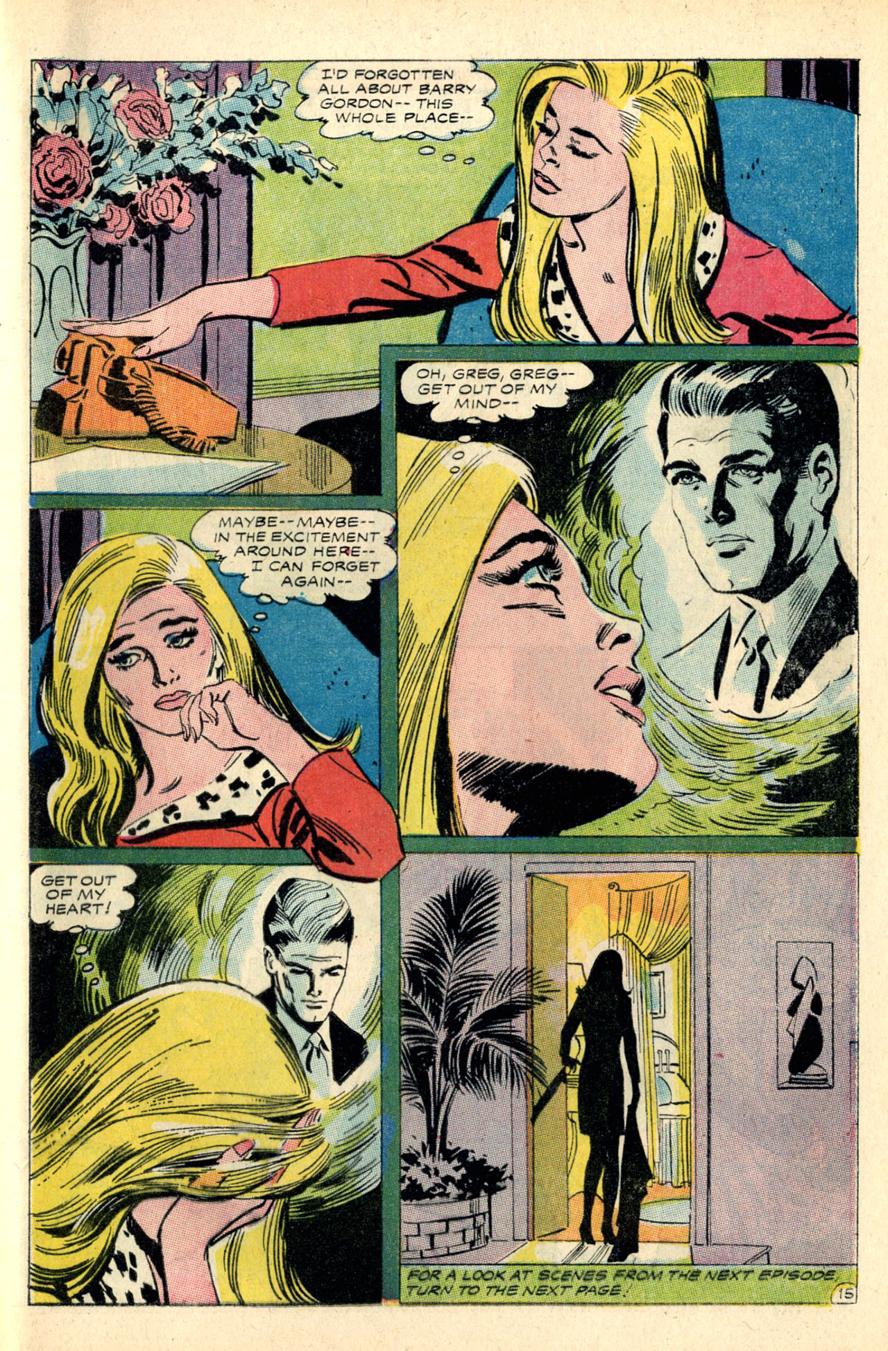 Read online Secret Hearts comic -  Issue #127 - 33