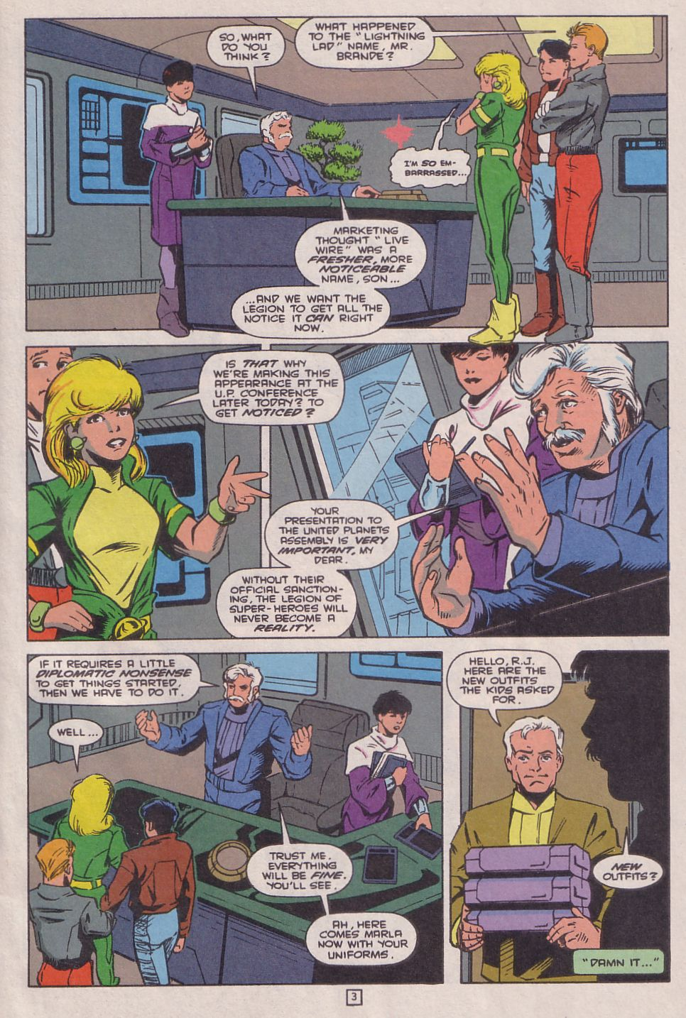Legionnaires issue 0 - Page 4