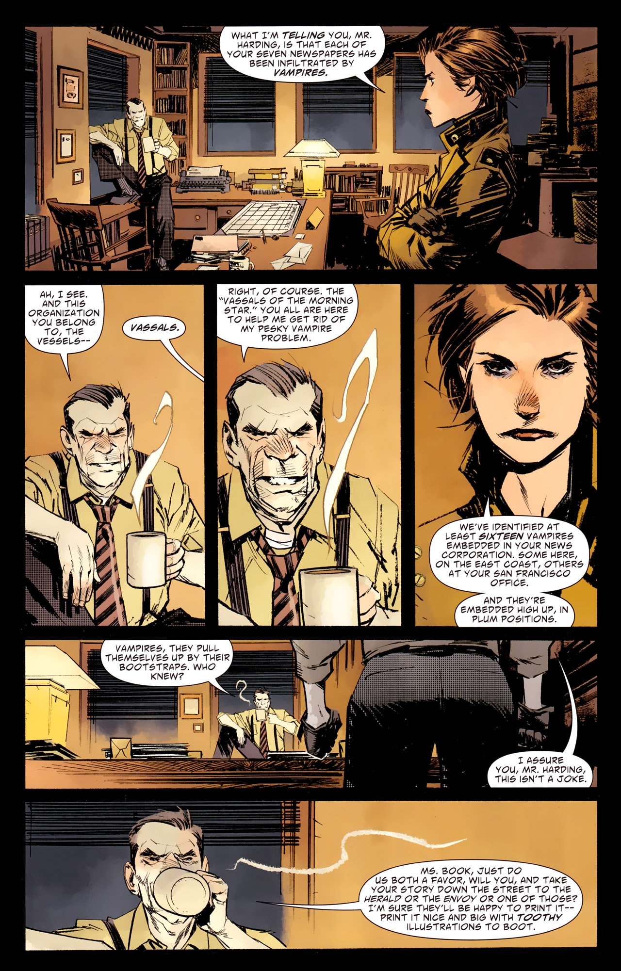Read online American Vampire: Survival of the Fittest comic -  Issue #1 - 4