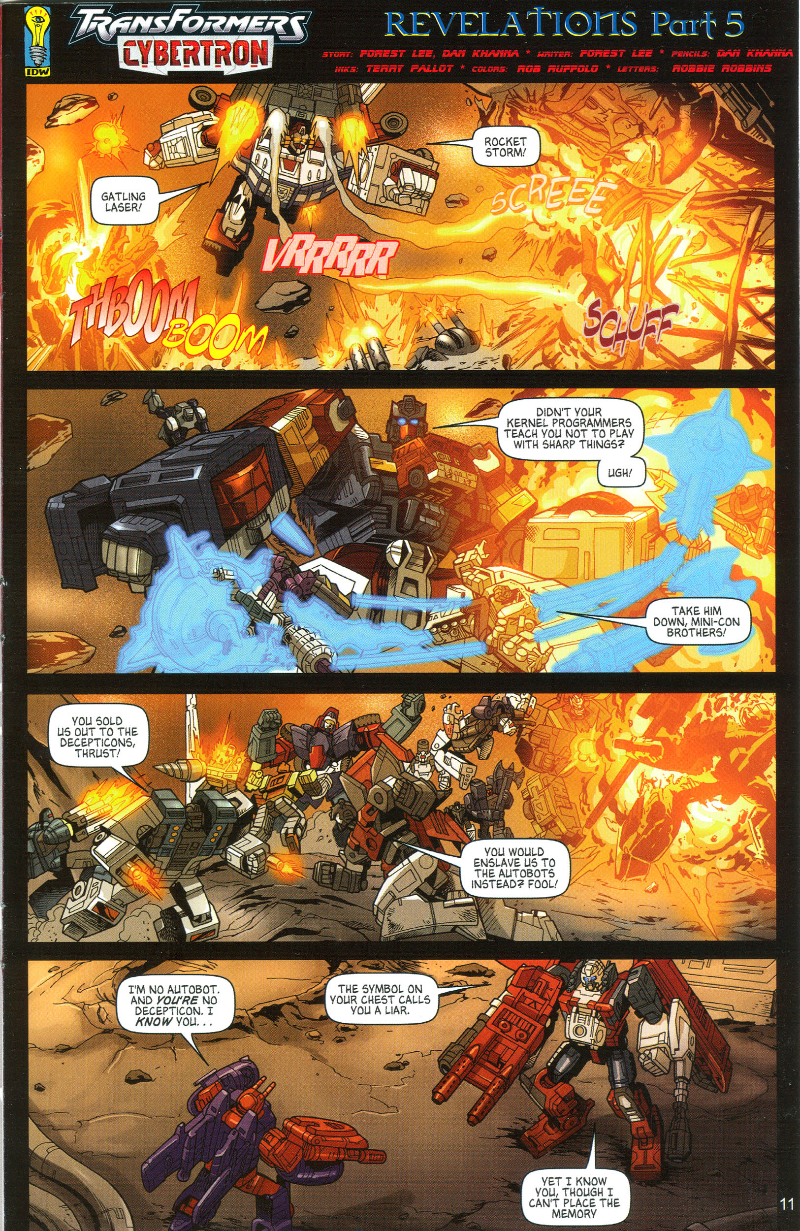 Read online Transformers: Collectors' Club comic -  Issue #11 - 11