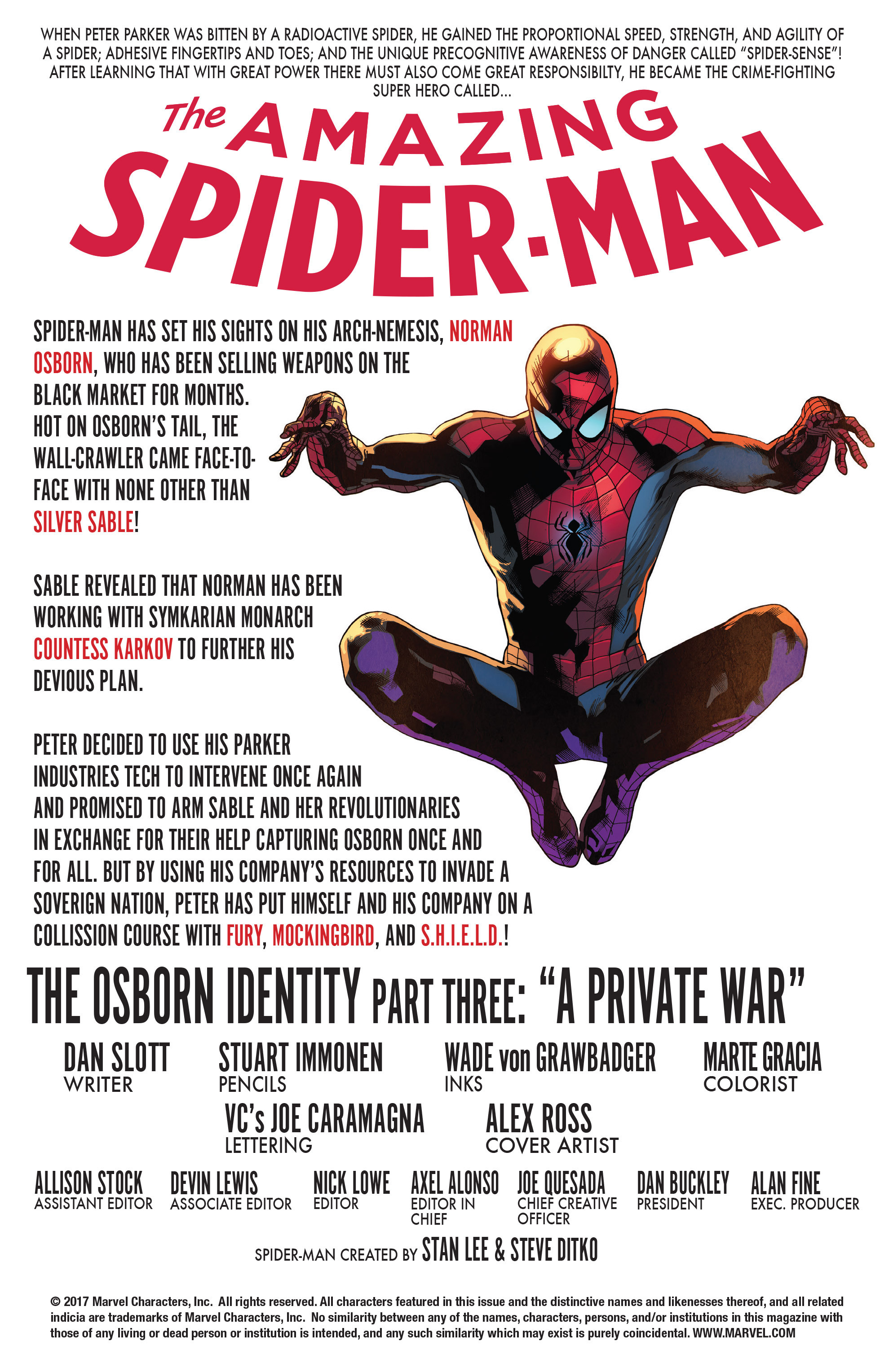 Read online The Amazing Spider-Man (2015) comic -  Issue #27 - 2
