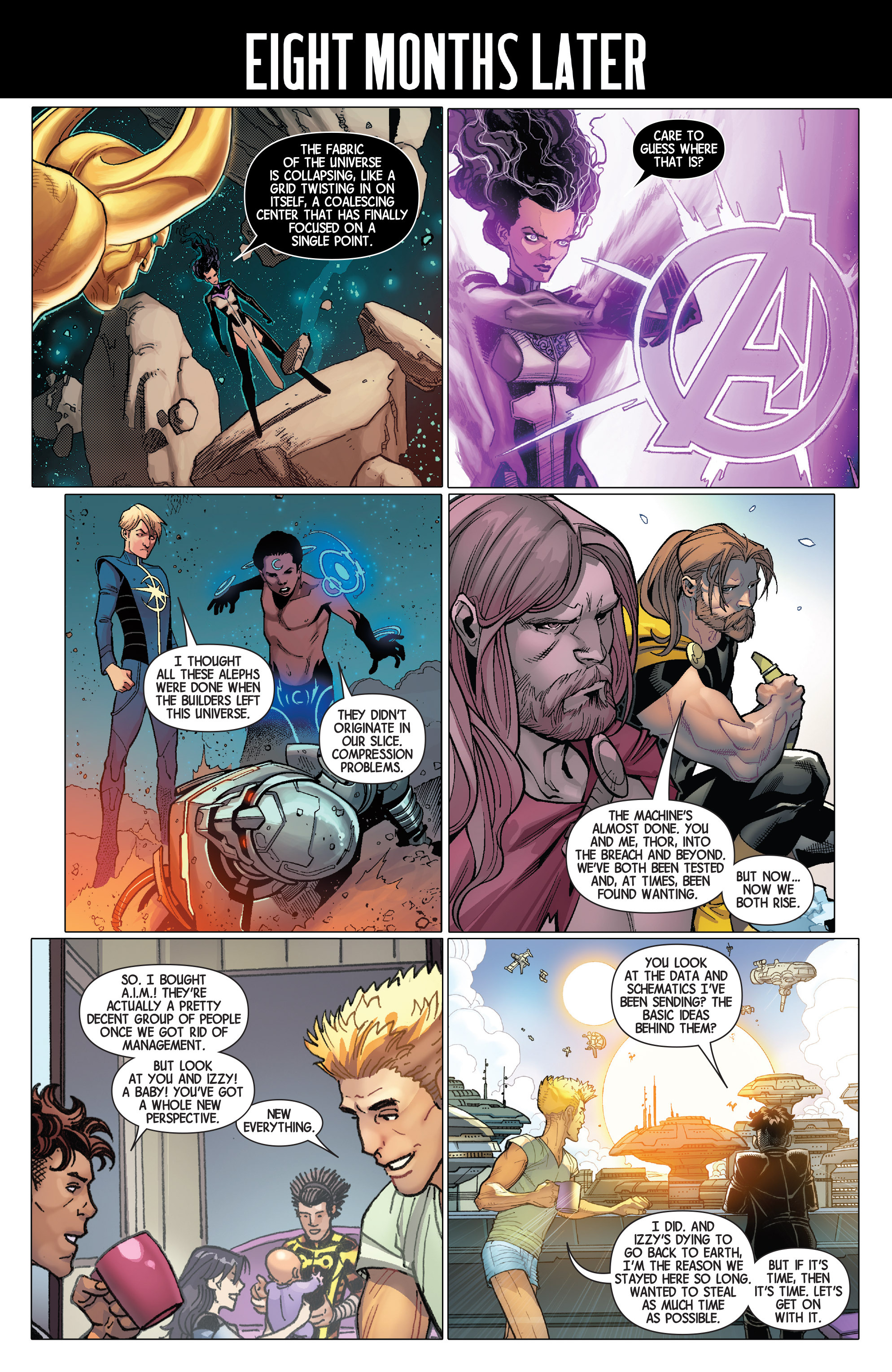 Read online Avengers (2013) comic -  Issue #36 - 2
