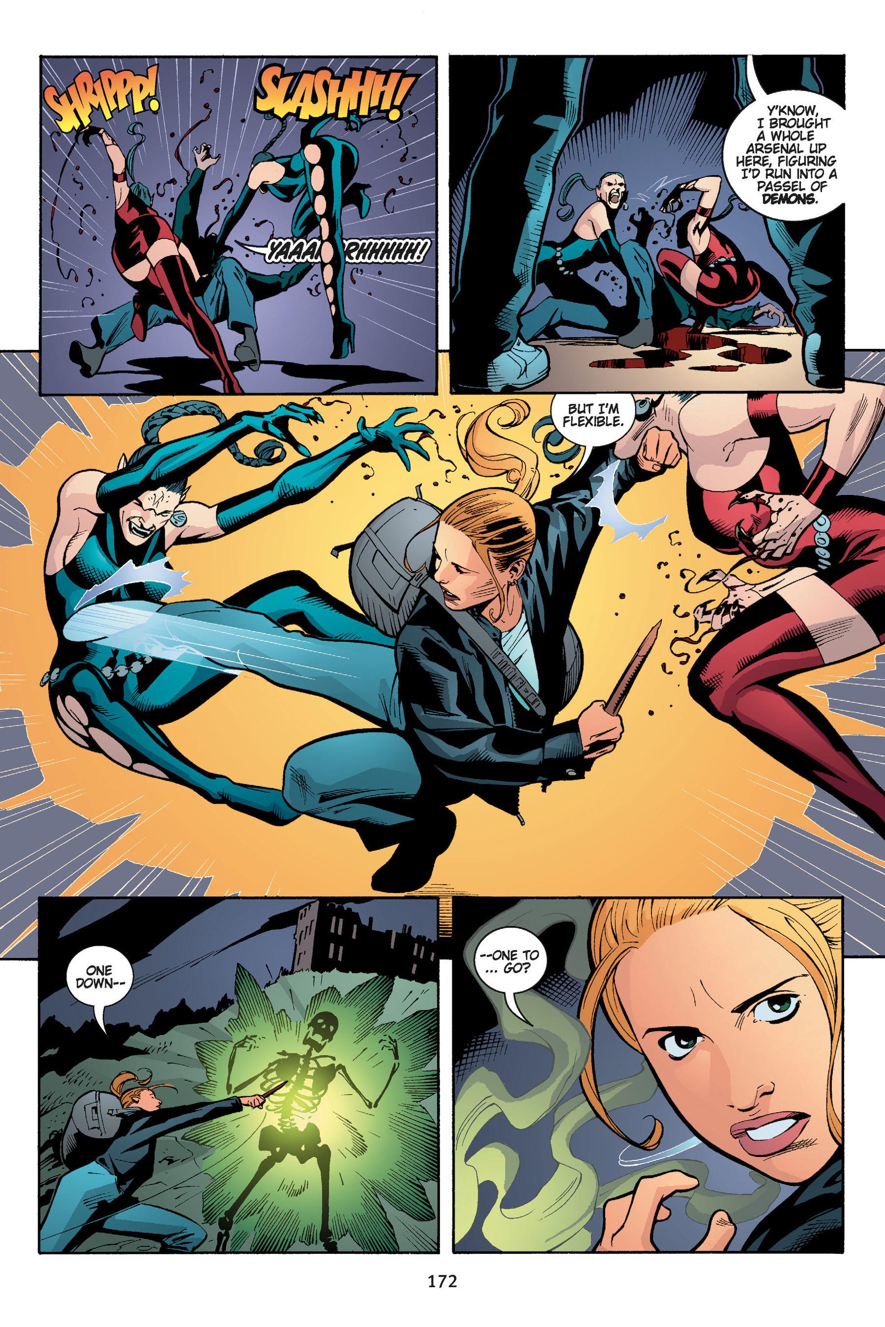 Read online Buffy the Vampire Slayer: Omnibus comic -  Issue # TPB 5 - 172