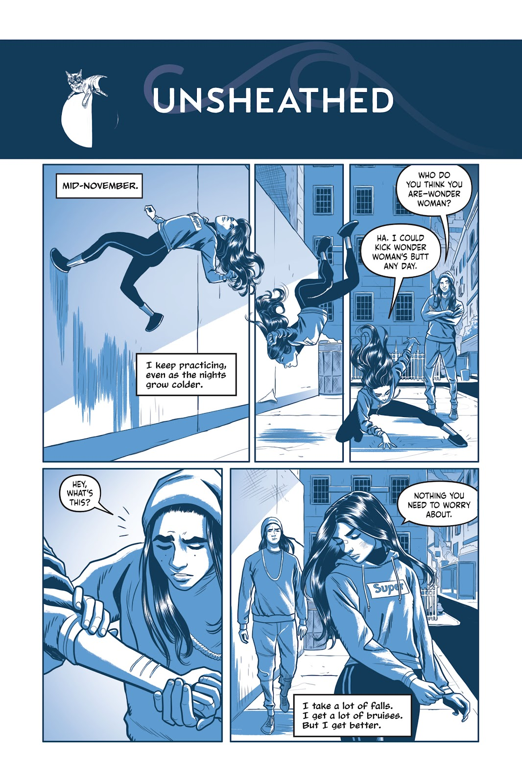 Read online Under the Moon: A Catwoman Tale comic -  Issue # TPB (Part 1) - 92