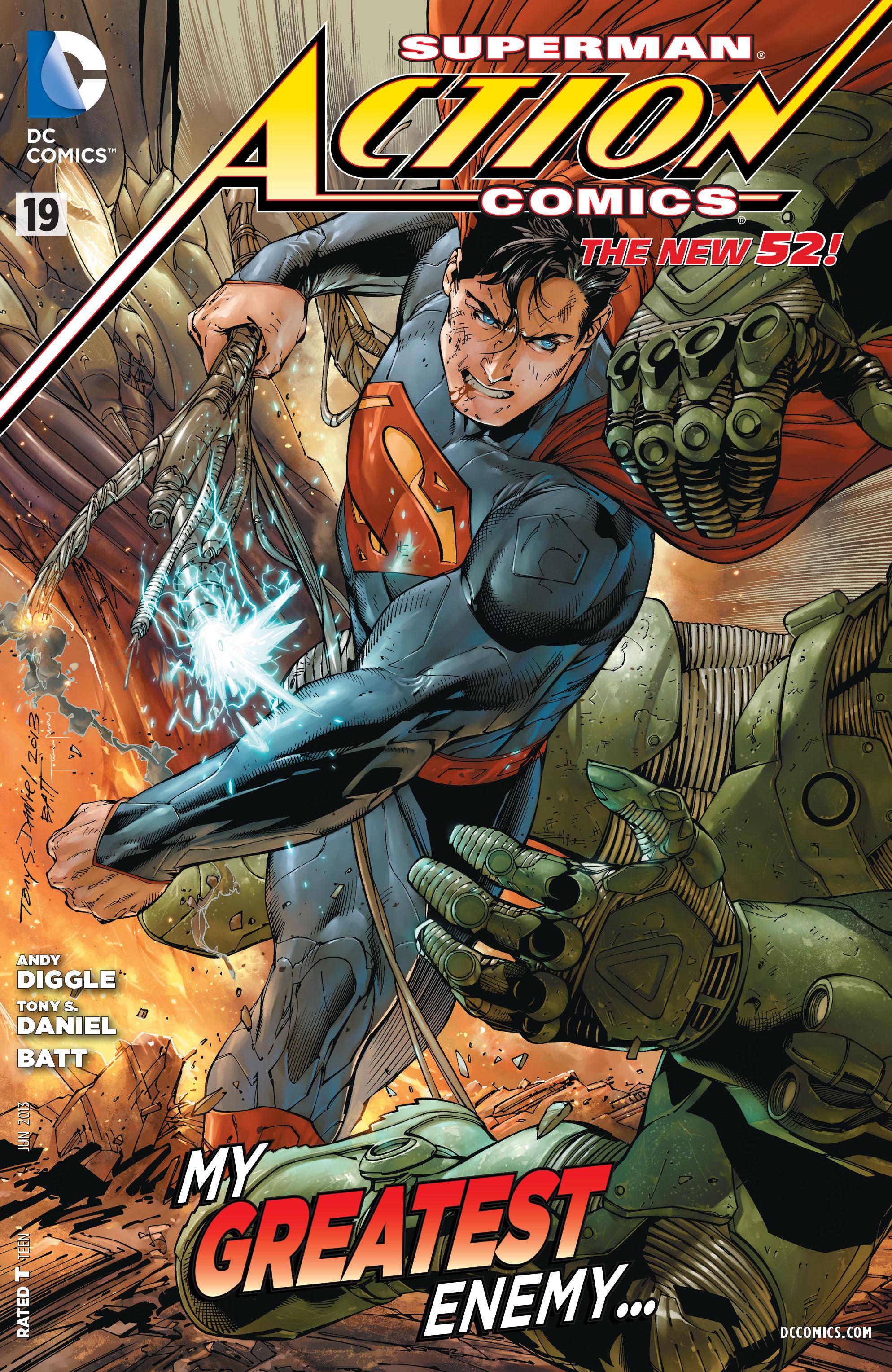 Action Comics (2011) 19 Page 1