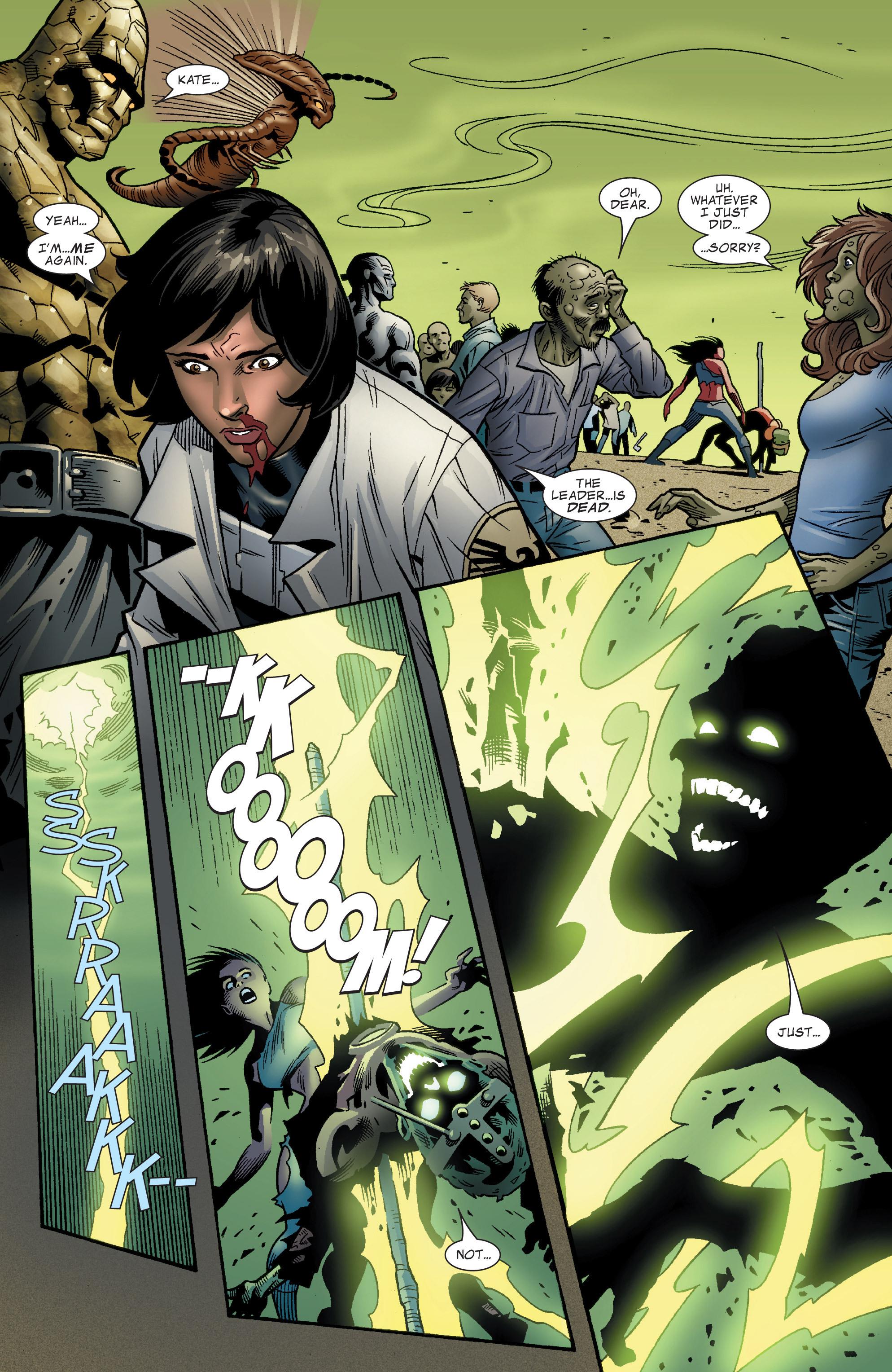 Read online World War Hulk Aftersmash: Warbound, Vol. 1 comic -  Issue #5 - 15