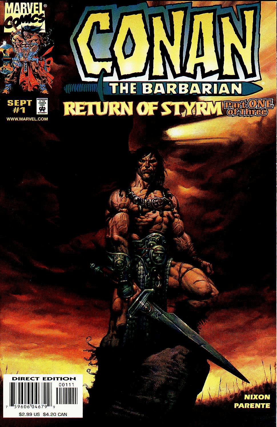 Read online Conan: Return of Styrm comic -  Issue #1 - 1