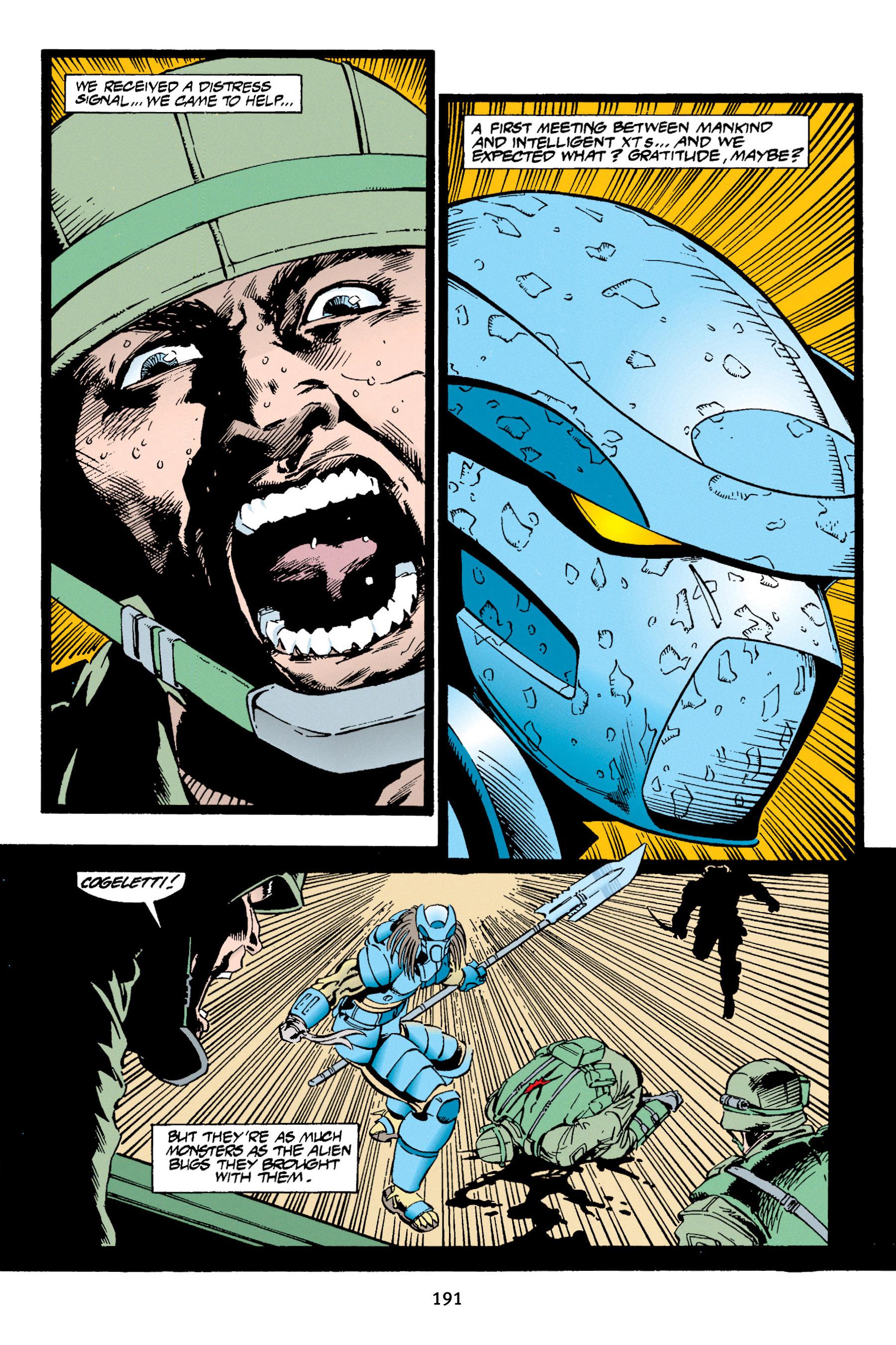 Read online Aliens vs. Predator Omnibus comic -  Issue # _TPB 1 Part 2 - 88