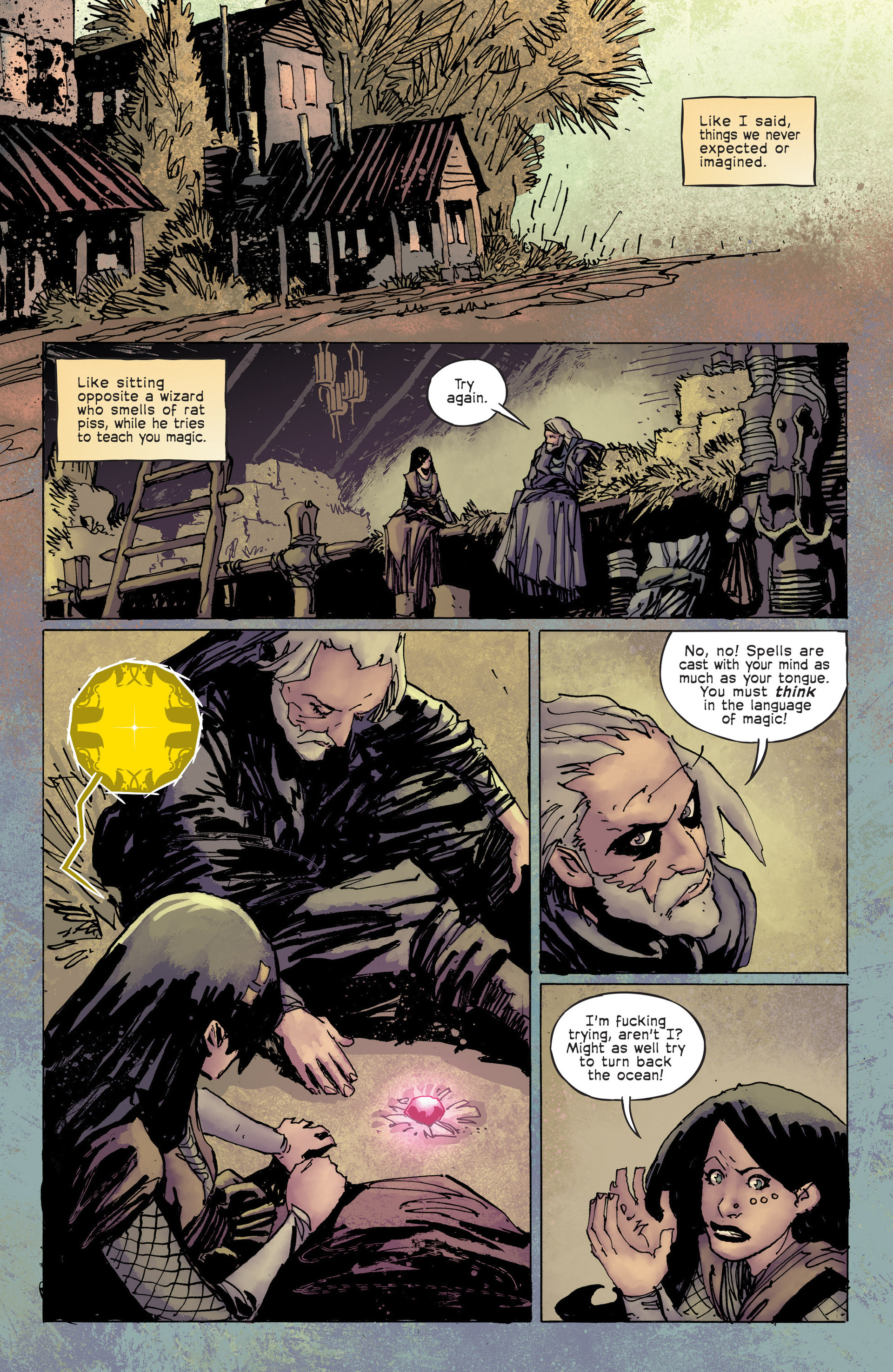 Read online Umbral comic -  Issue #6 - 11