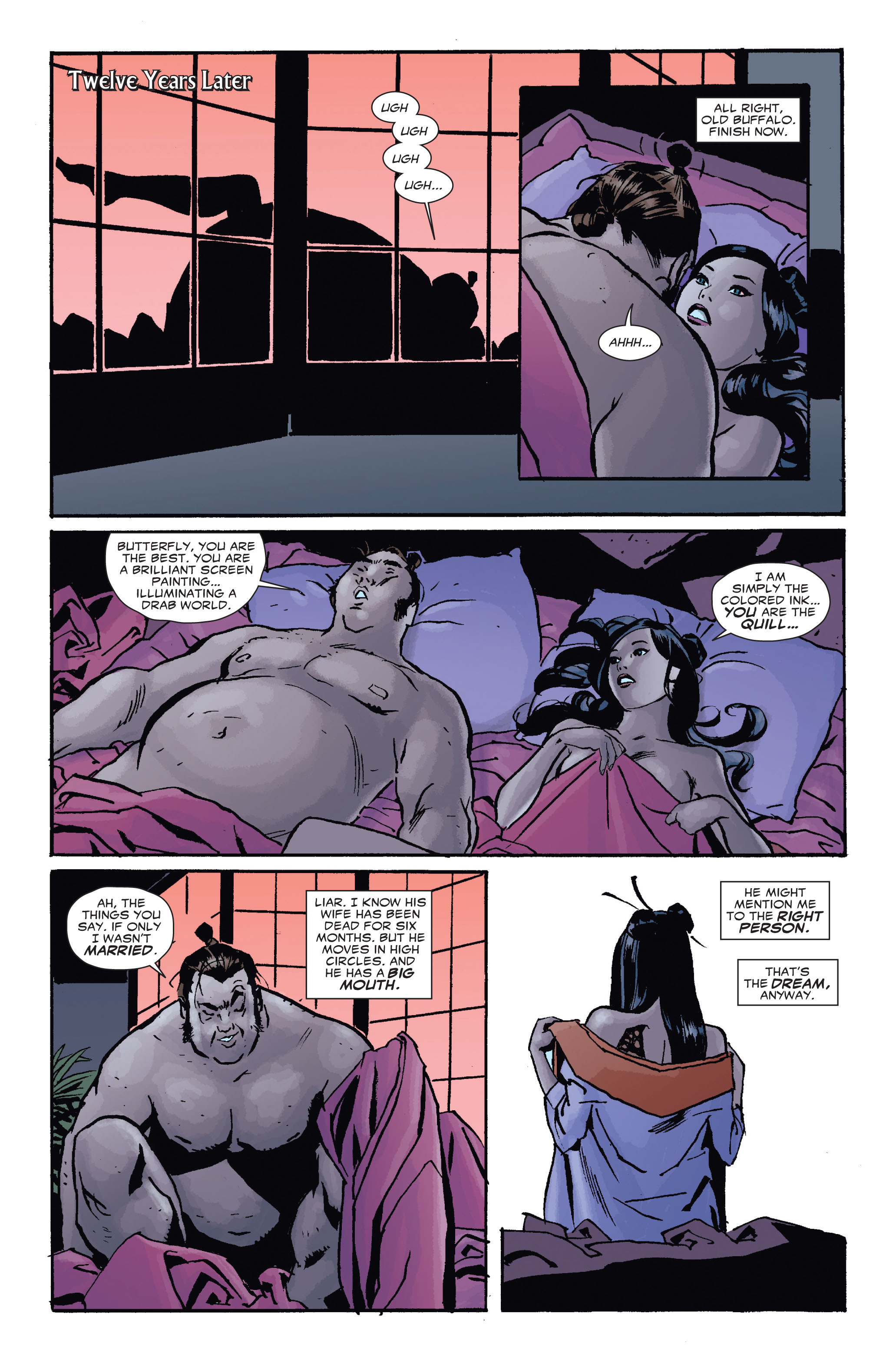 Read online 5 Ronin (2011) comic -  Issue #4 - 4