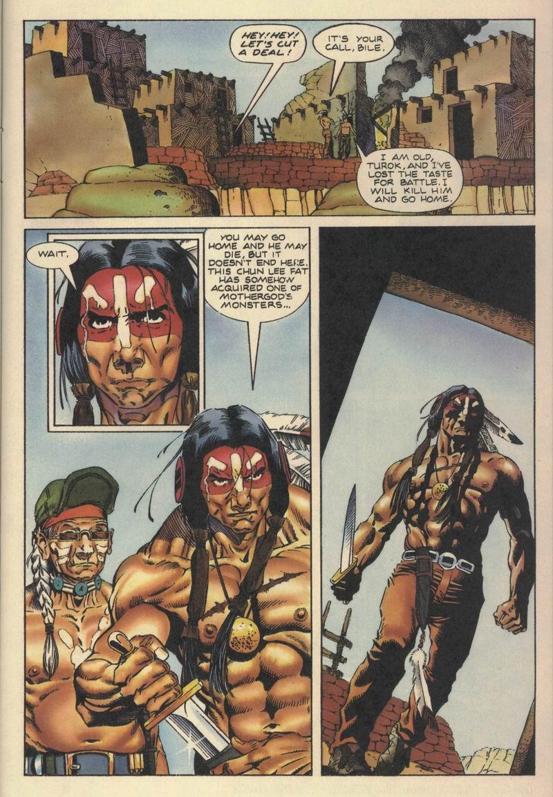 Read online Turok, Dinosaur Hunter (1993) comic -  Issue #10 - 21