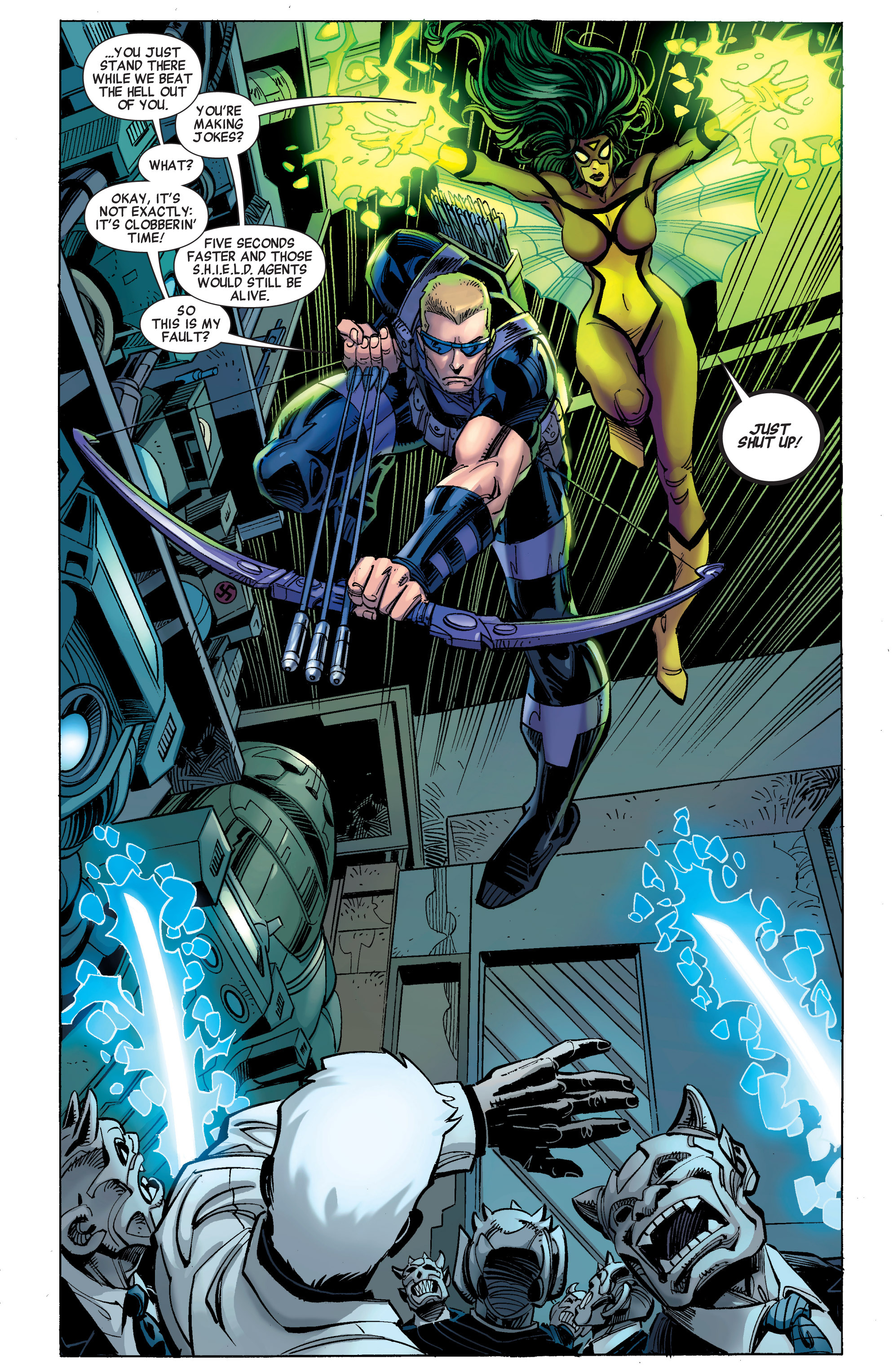 Read online Avengers (2010) comic -  Issue #30 - 7