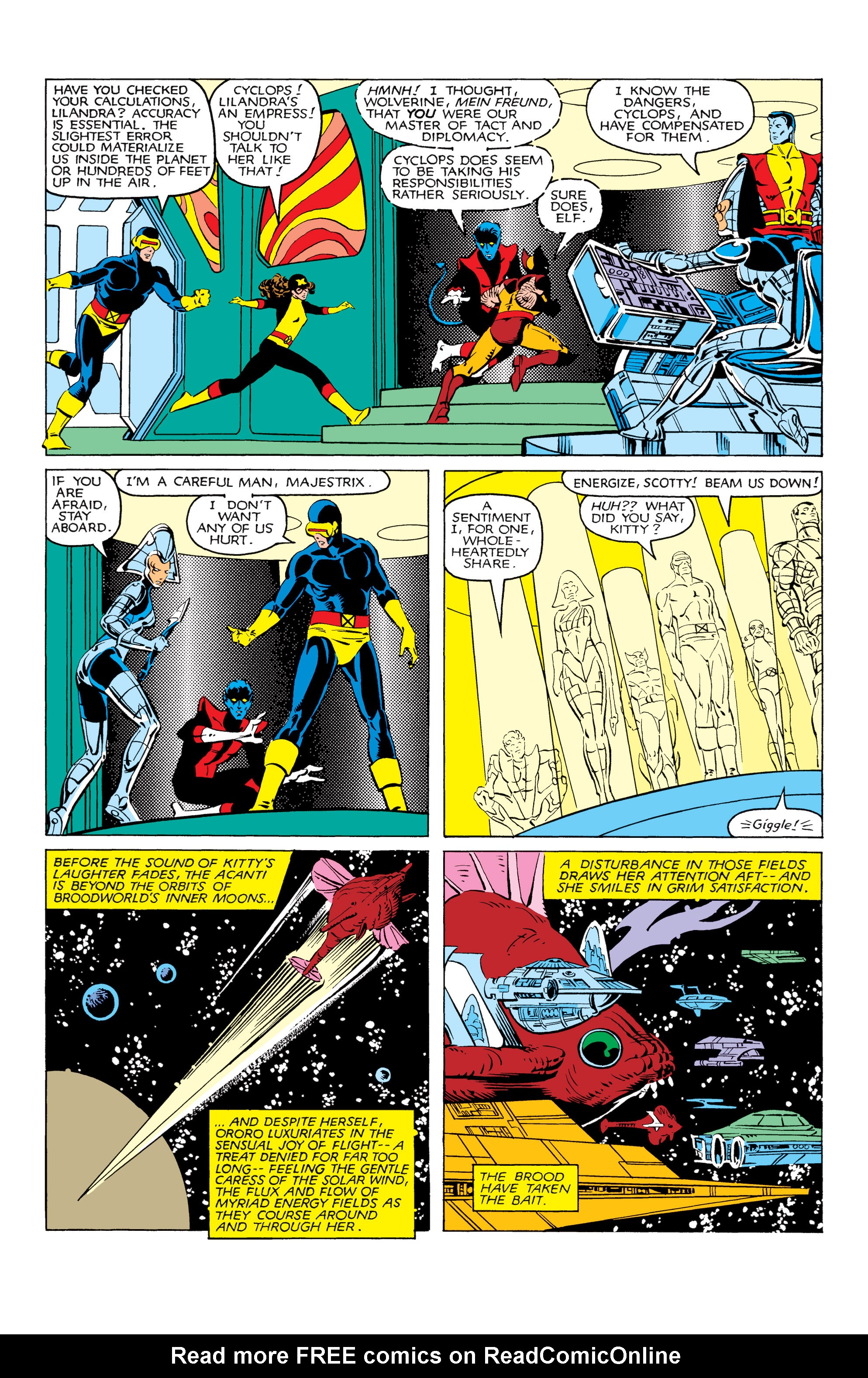 Read online Uncanny X-Men (1963) comic -  Issue #166 - 15