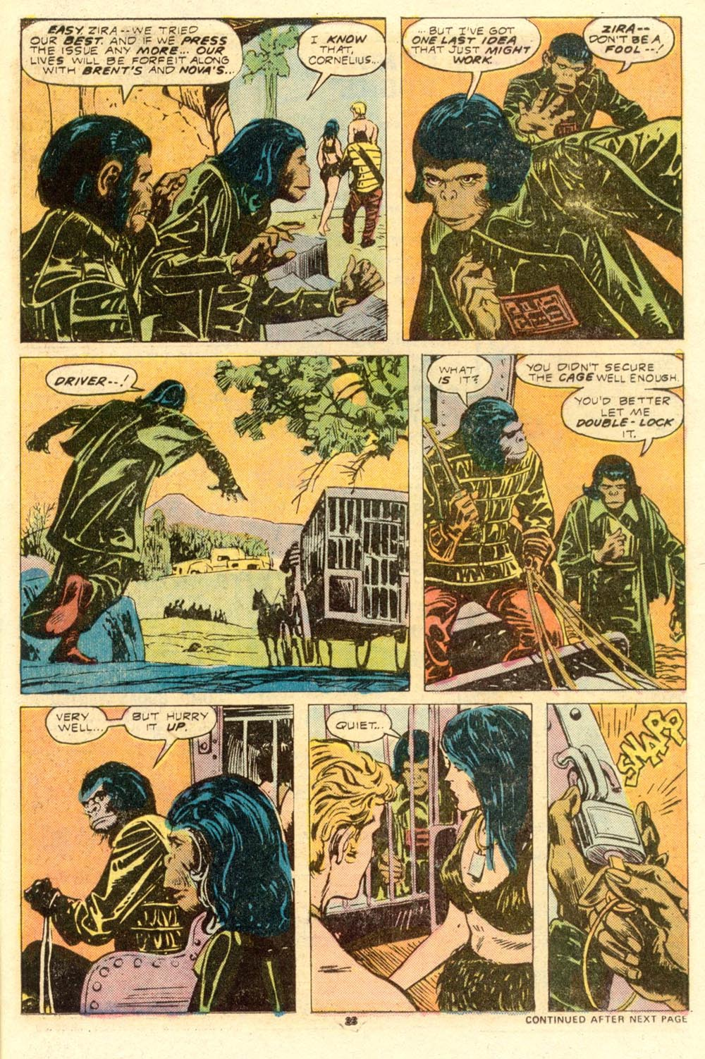 Read online Adventures on the Planet of the Apes comic -  Issue #8 - 15
