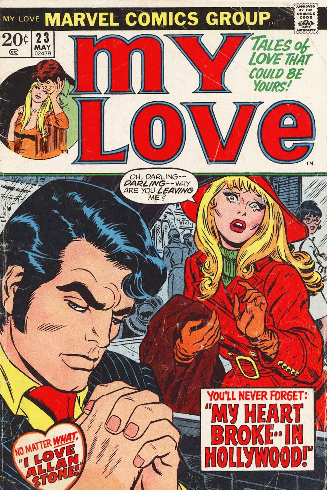 My Love (1969) issue 23 - Page 1
