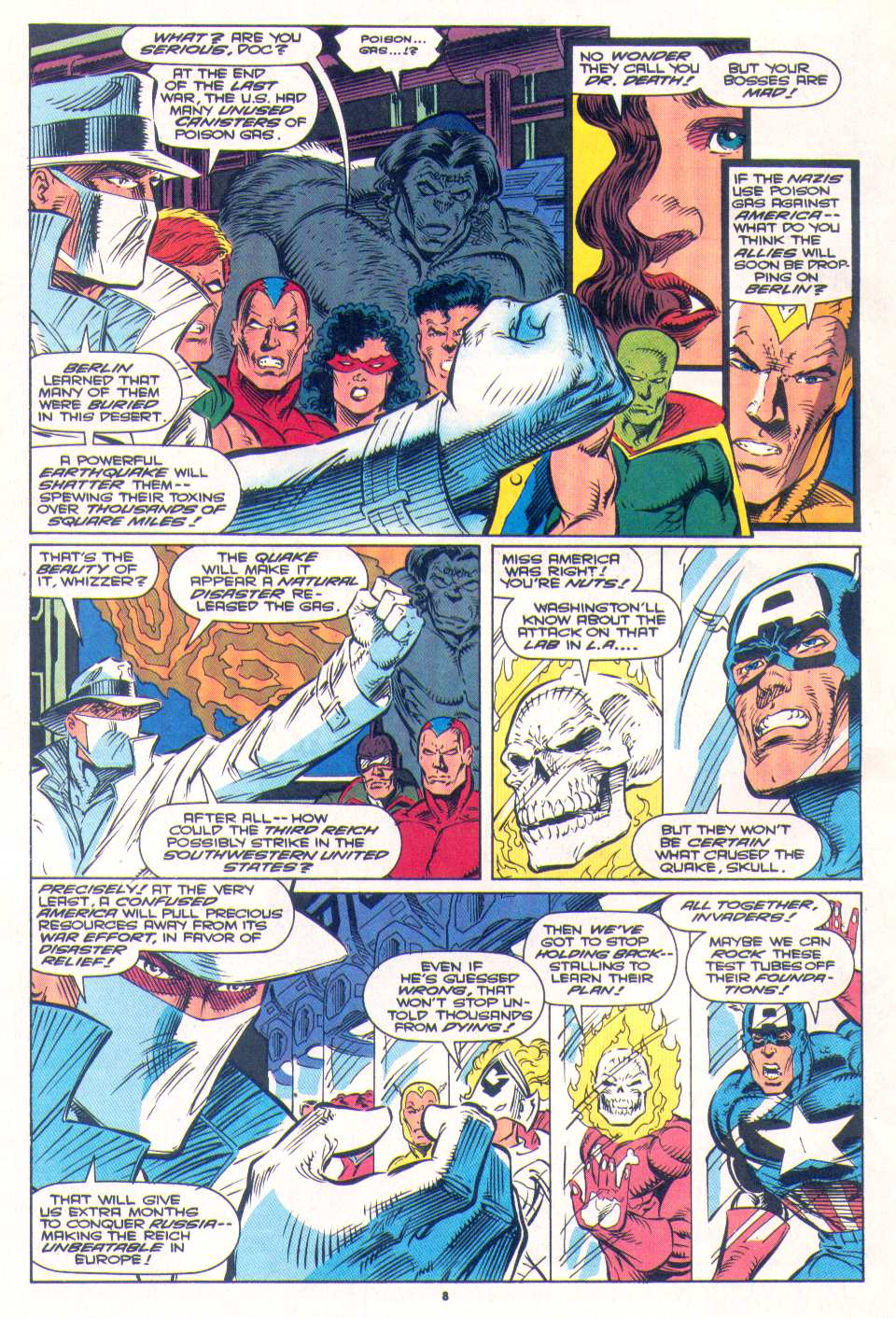 Read online The Invaders (1993) comic -  Issue #4 - 8