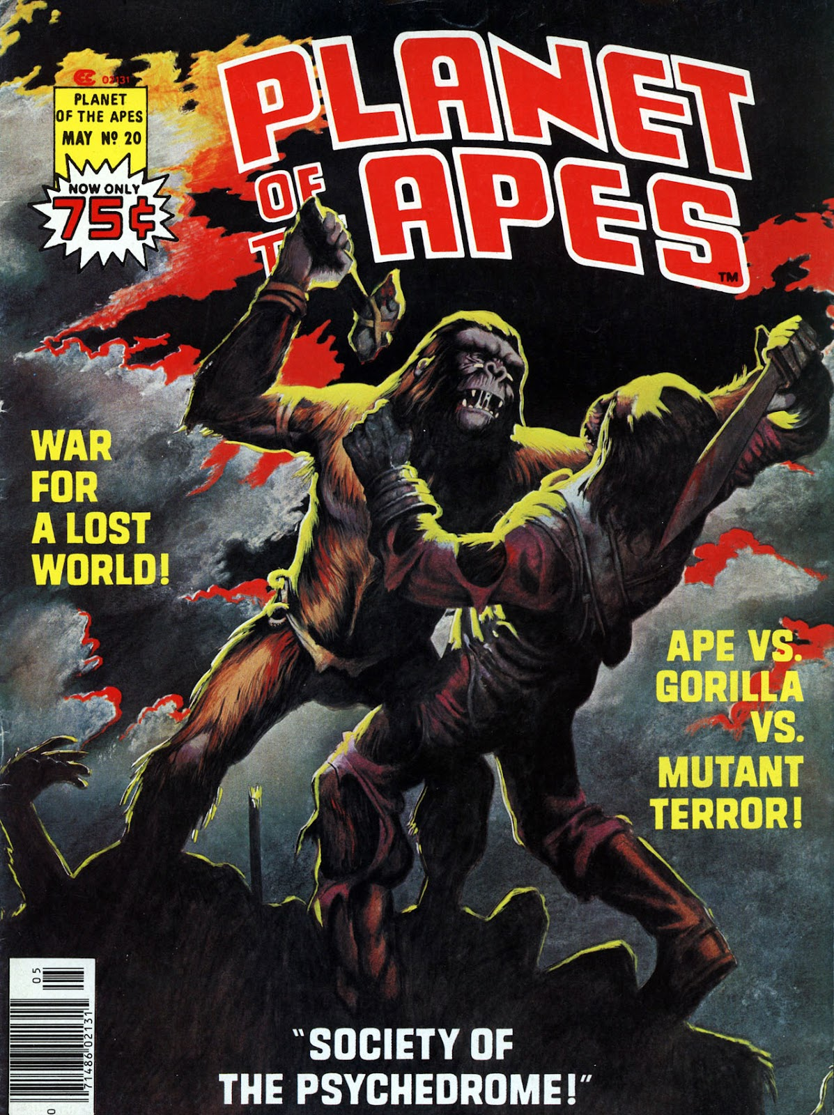 Planet of the Apes (1974) 20 Page 1