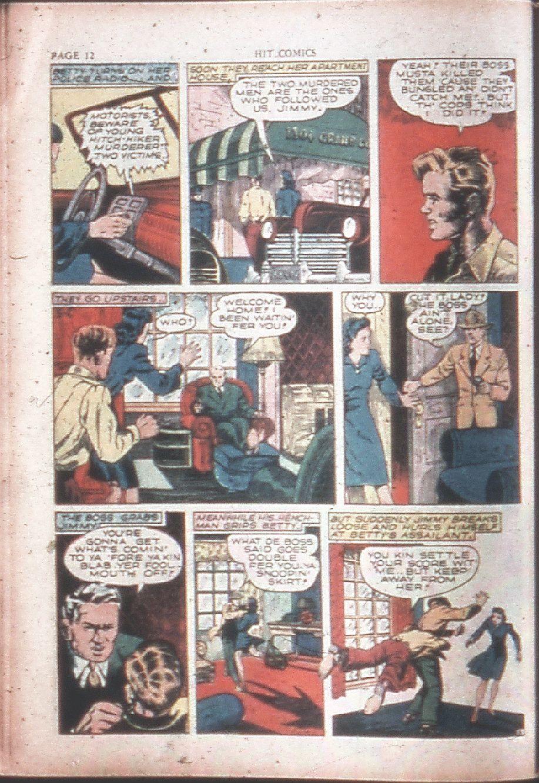 Read online Hit Comics comic -  Issue #15 - 14