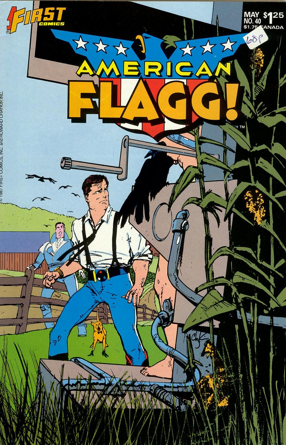 Read online American Flagg! comic -  Issue #40 - 1