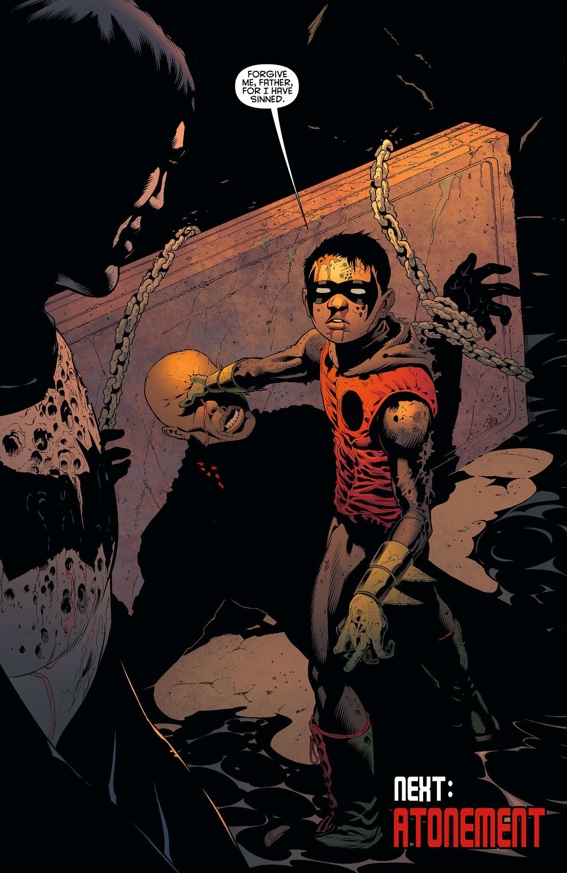 Read online Batman and Robin (2011) comic -  Issue #7 - 19