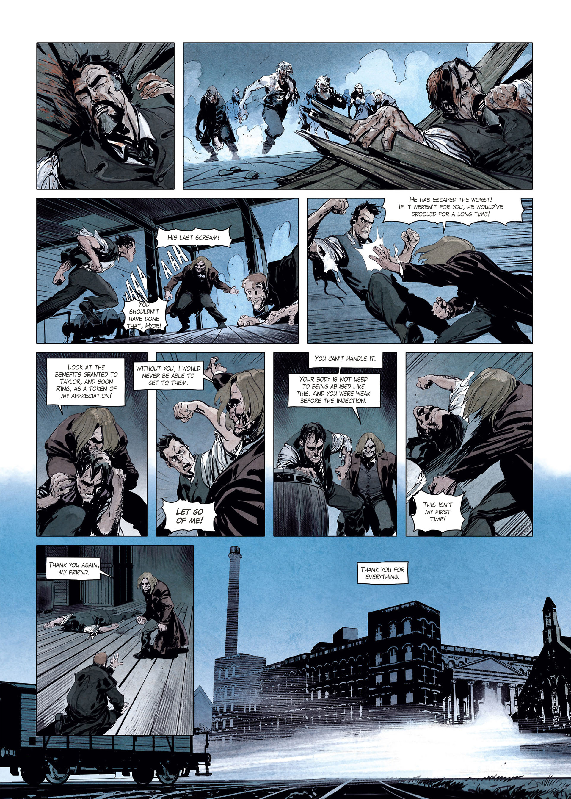 Read online Sherlock Holmes Society Tome 4 : Contamination comic -  Issue # Full - 48